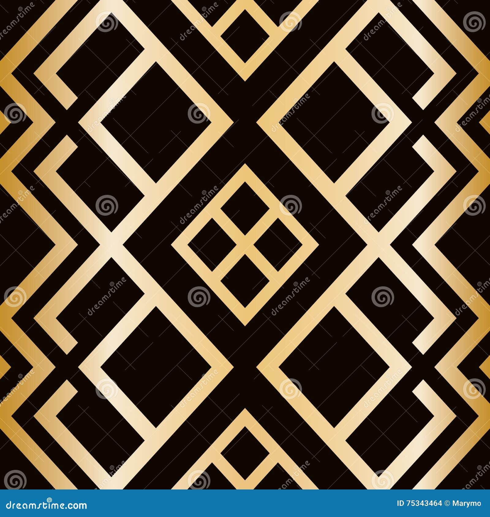 Art Deco Pattern Clip Art K12996789 Fotosearch 8