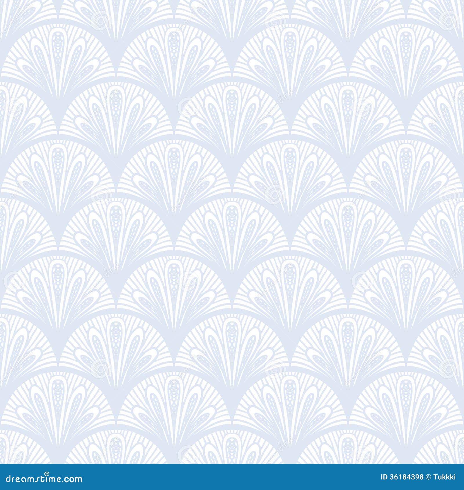 Art deco vector geometrisch patroon in zilveren wit royalty vrije stock foto 39 s afbeelding - Deco wit ...