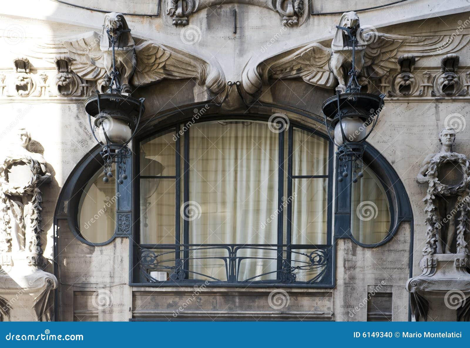 Art Deco Window Stock Photo Image Of Architecture