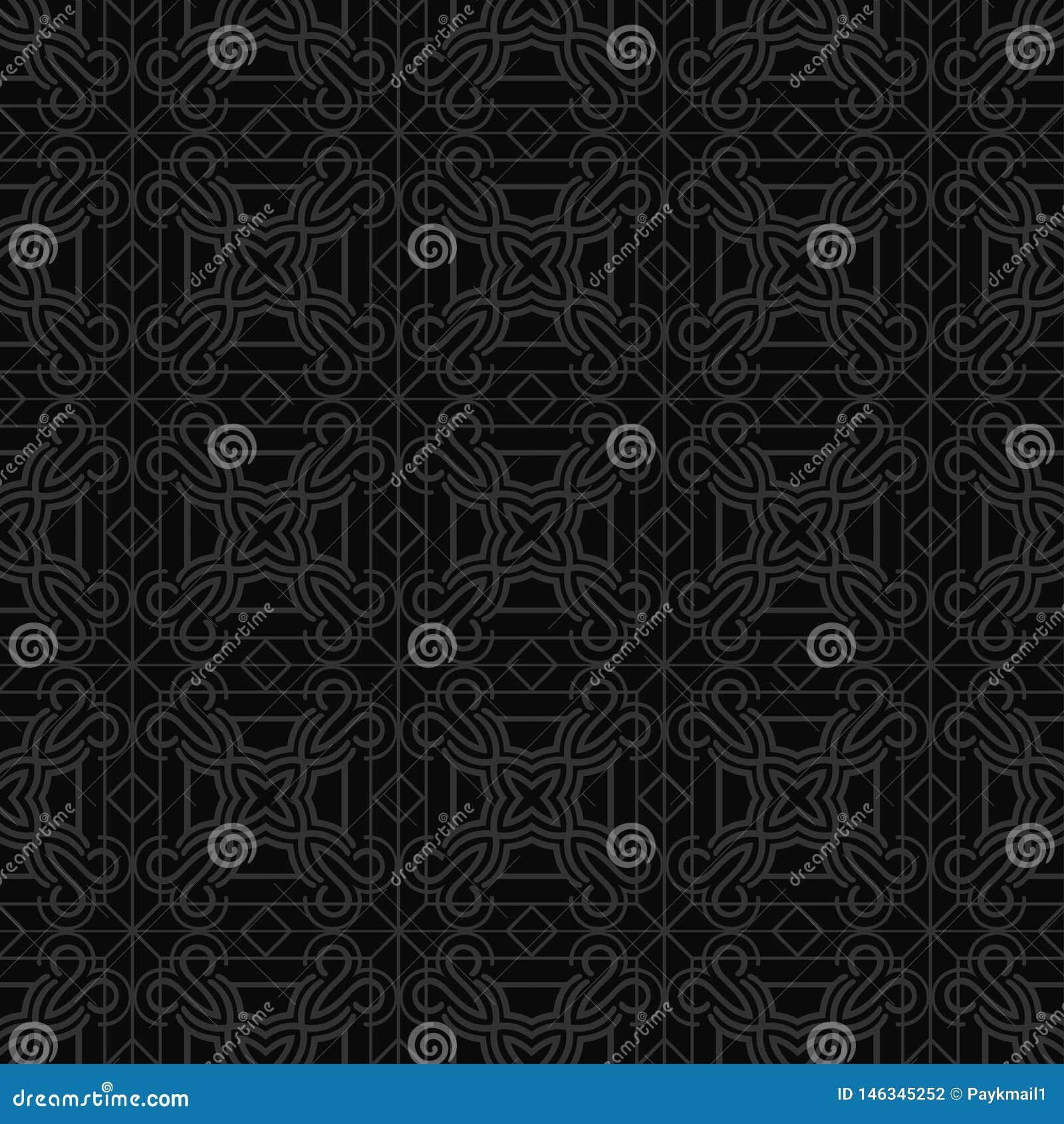 Art- Deconahtloses Muster
