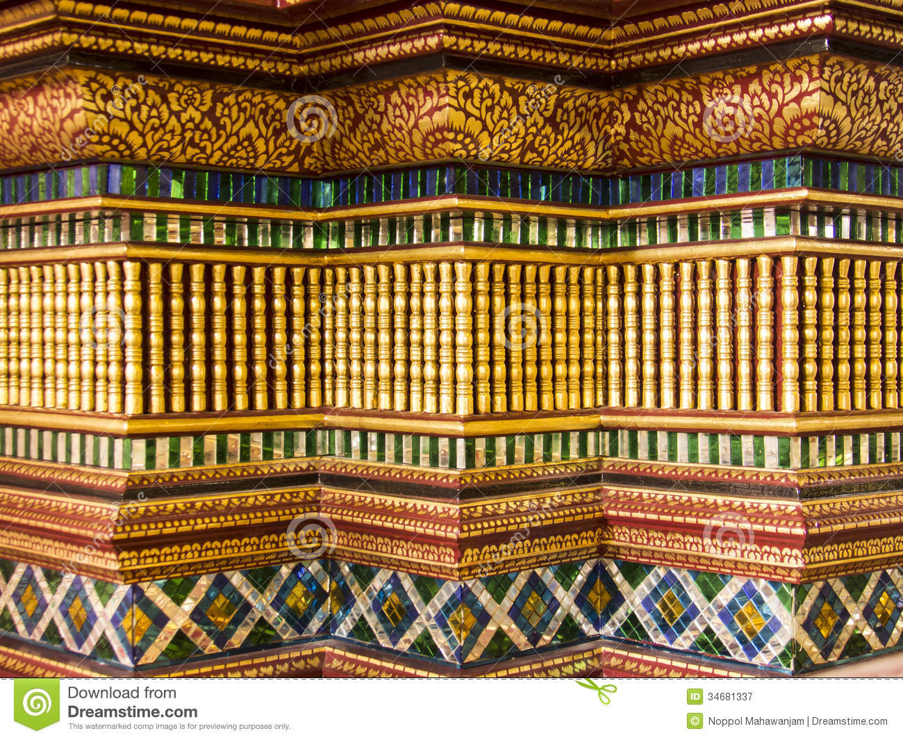 art and decoration in temple royalty free stock photography art decoration temple