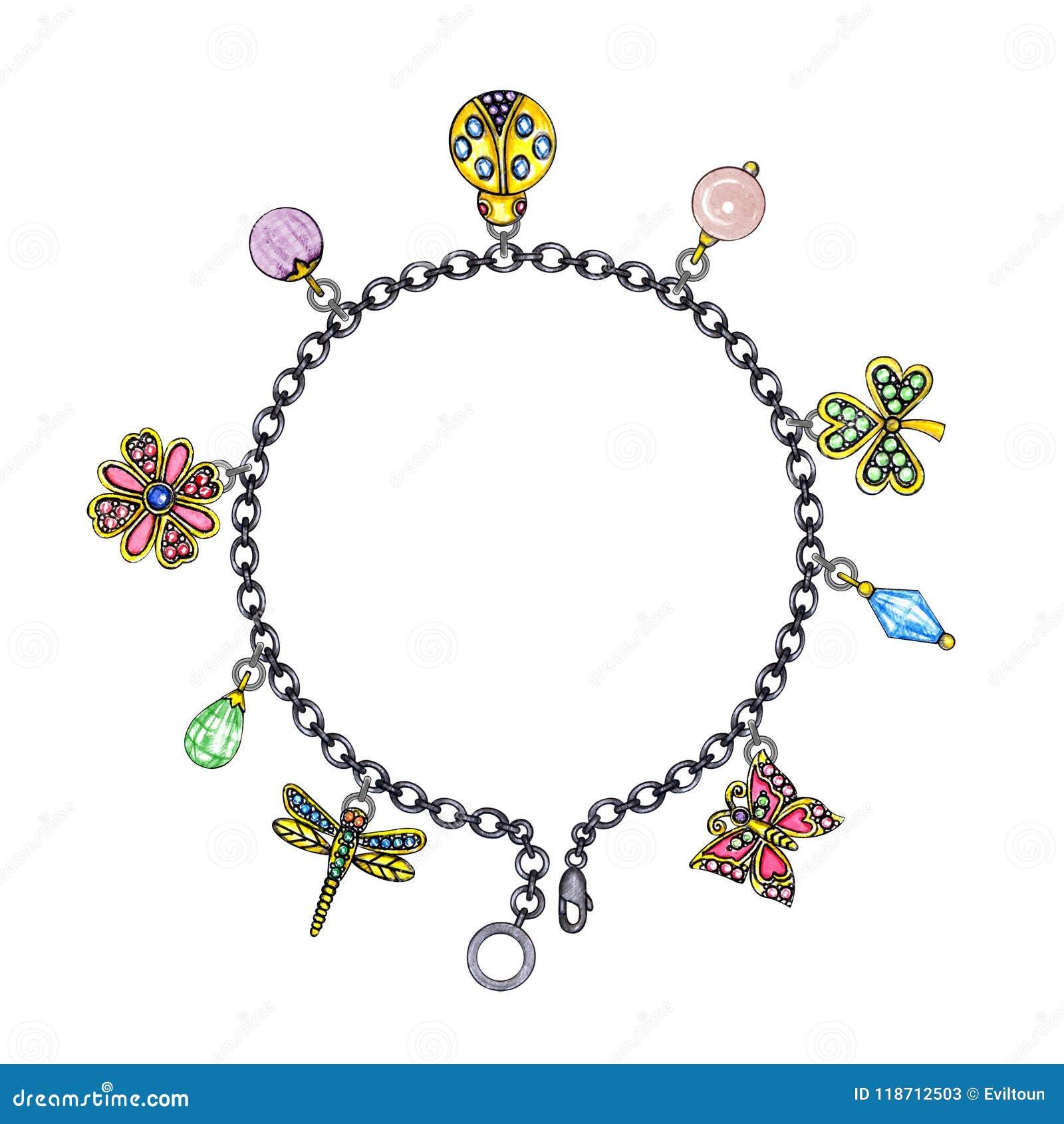 Jewelry Design Fashion Nature Bracelet.