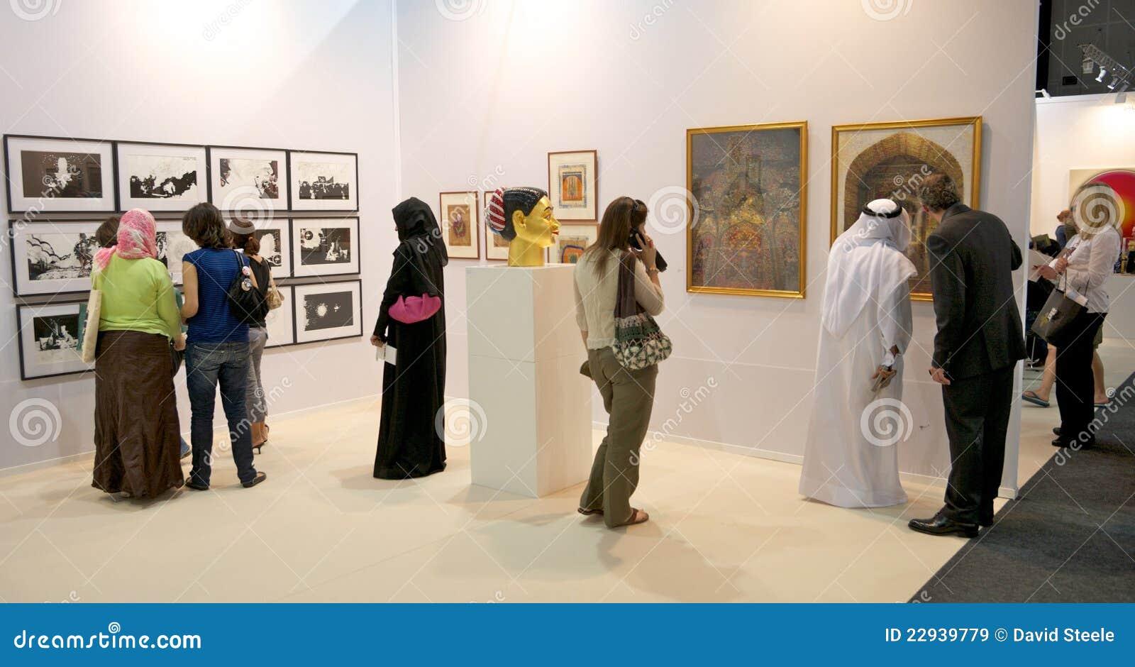 D Art Exhibition In Dubai : Art dubai editorial stock image image of exhibition