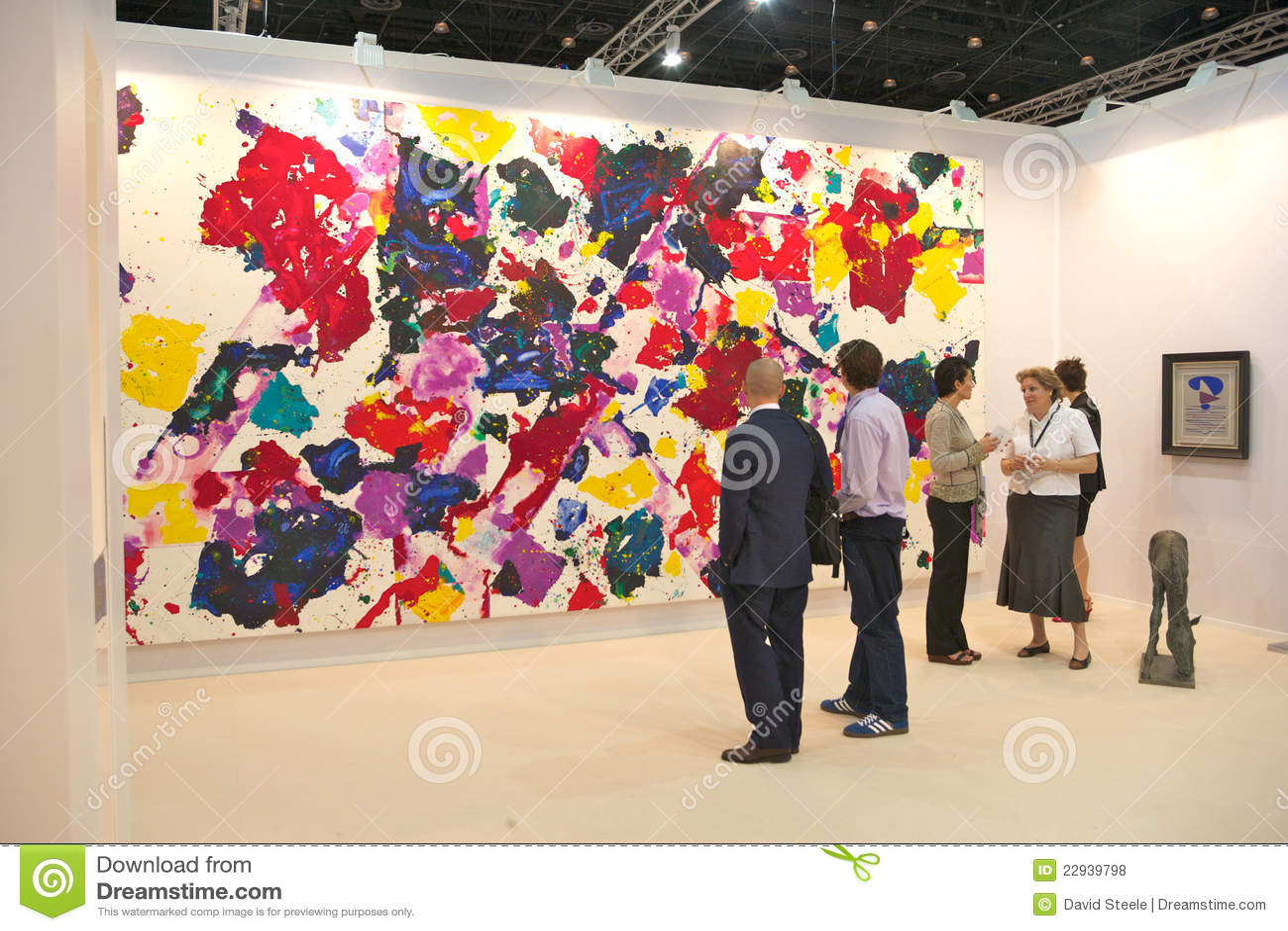D Art Exhibition In Dubai : Art fairs chatterjee lal