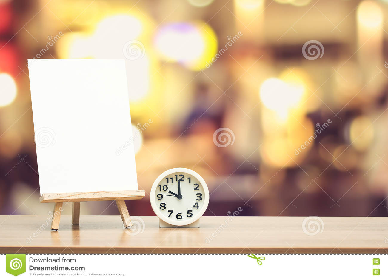 Art easel stock image. Image of blur, display, message - 79748827