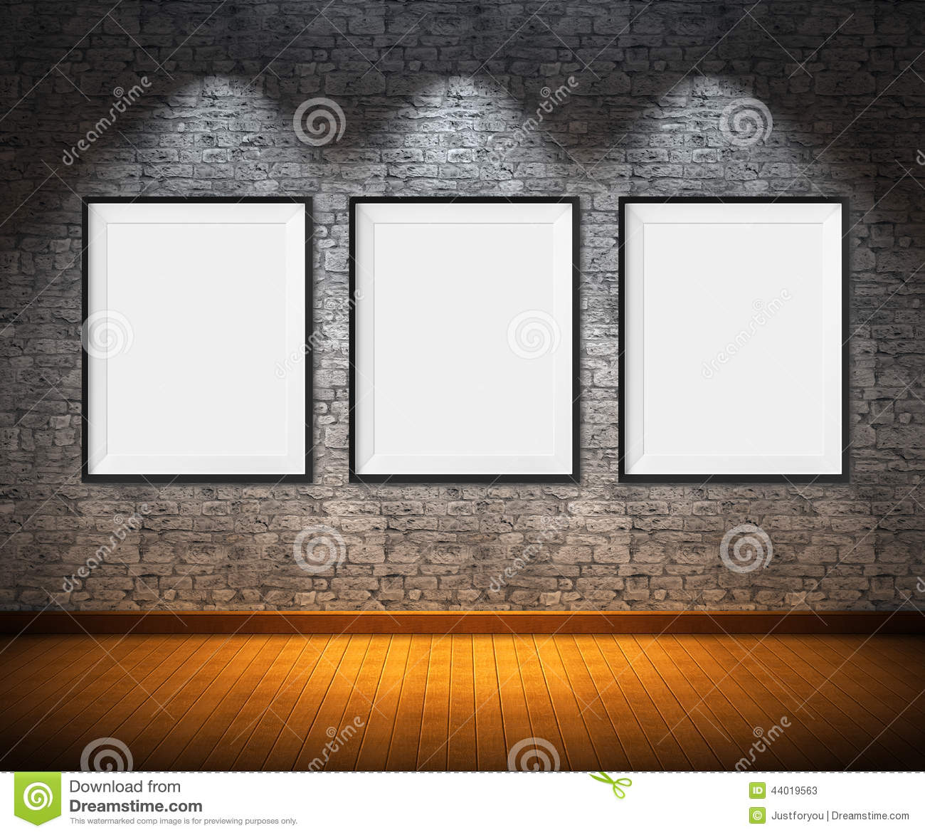 Art gallery stock photo image 44019563 for Wall art templates free
