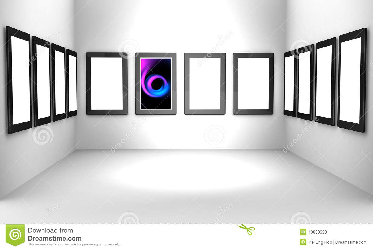 Art Gallery Exhibition Hall Concept Stock Photos Image
