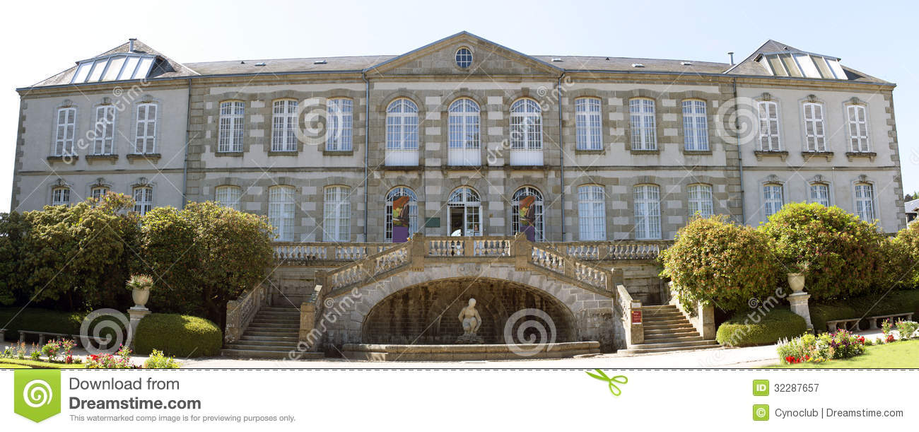 Art Gallery Of Gueret Royalty Free Stock Photography