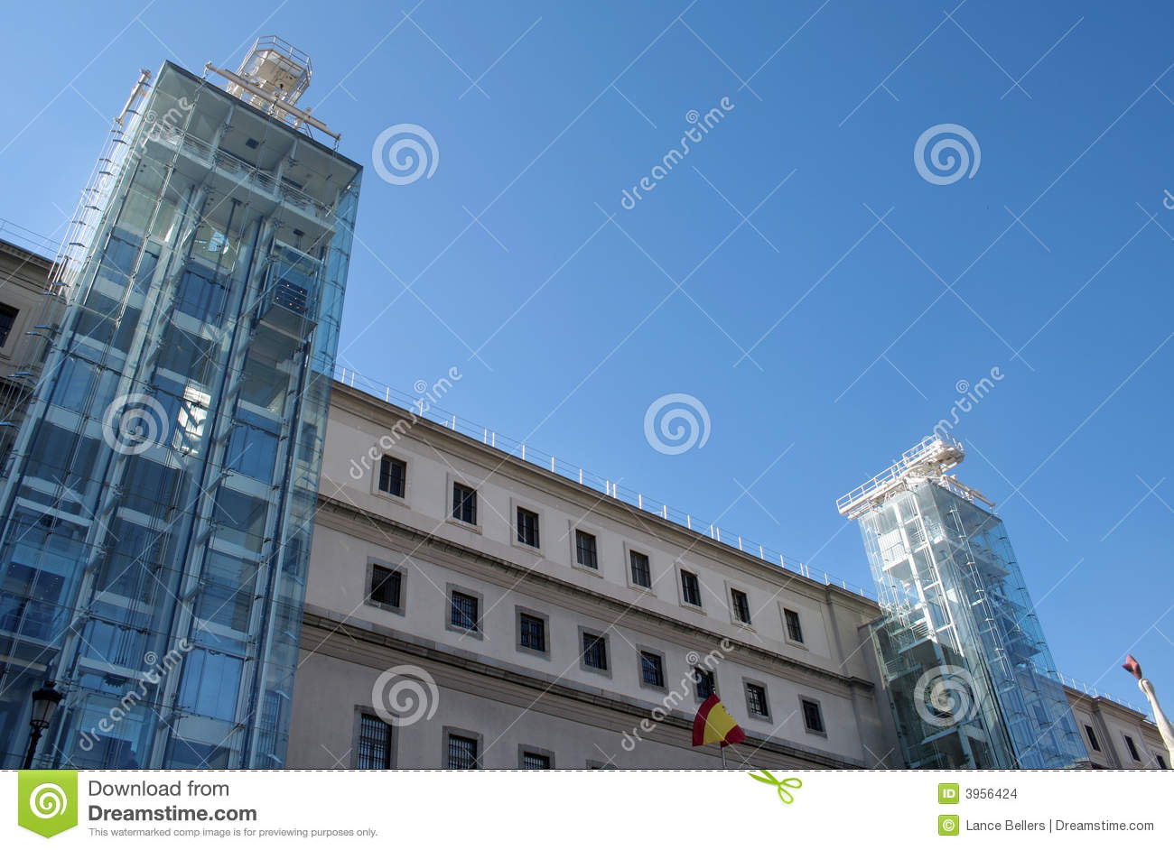 art gallery madrid stock images image 3956424