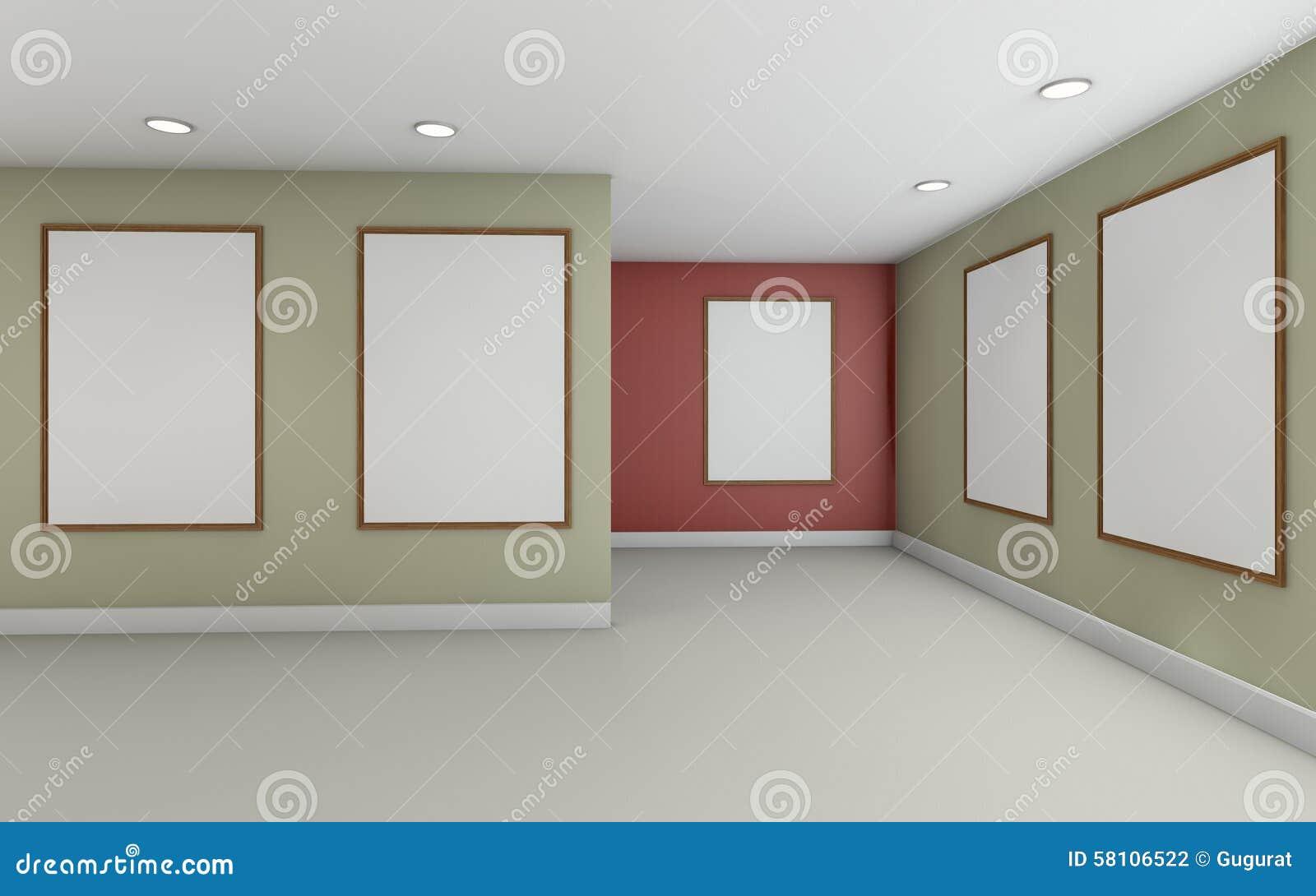 Color of art gallery walls - Art Color Frame Gallery