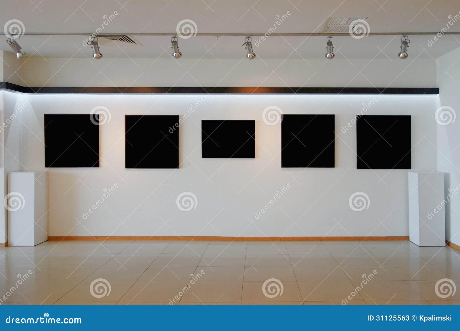 Art Gallery Wall Stock Photos Image