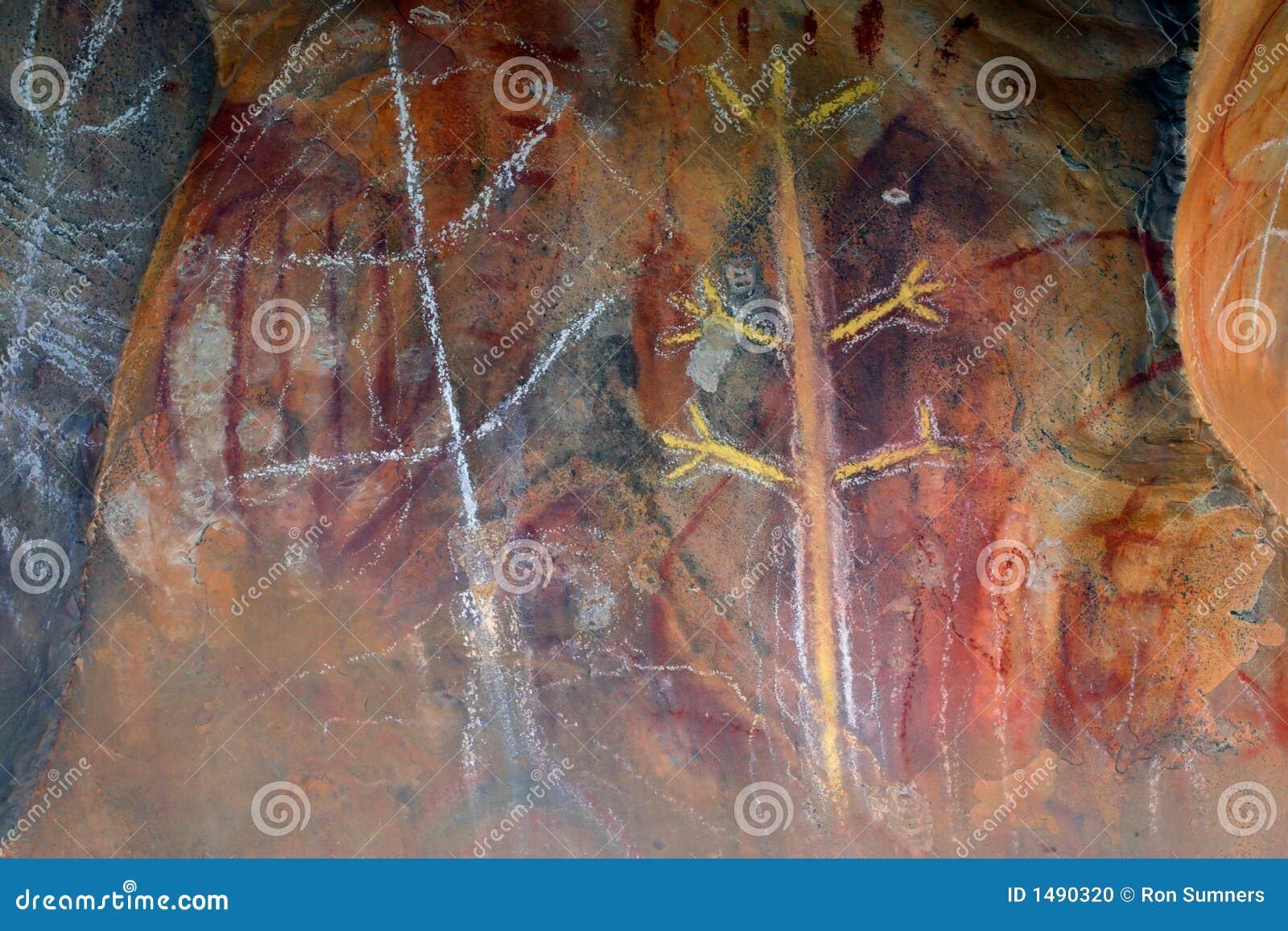 Art indigène de roche