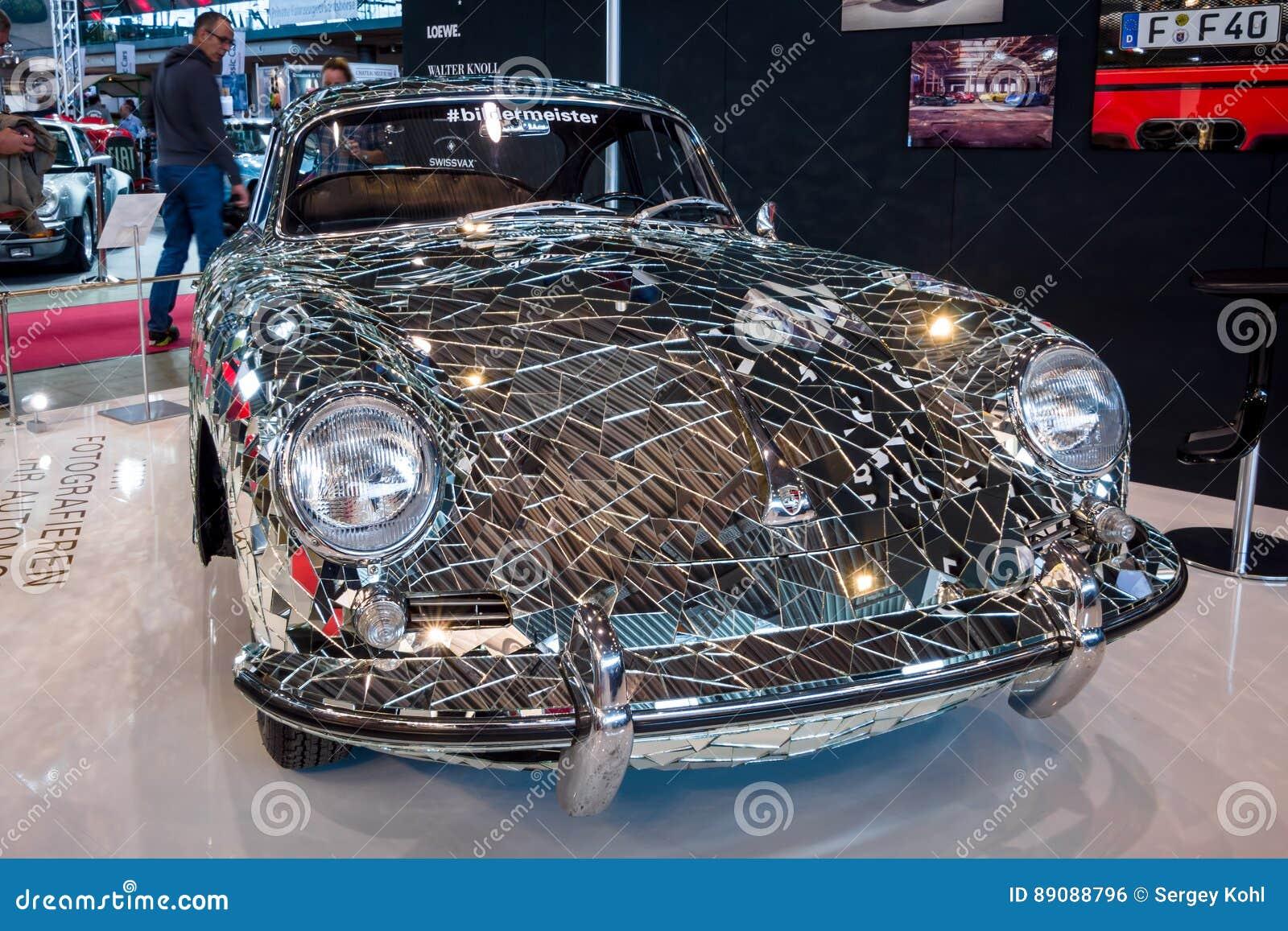 Art Installation Mirror Car Based On Porsche 356 By Artist Gustav Troger Mirrorman Editorial Photo Image Of Autotransport Greatest 89088796