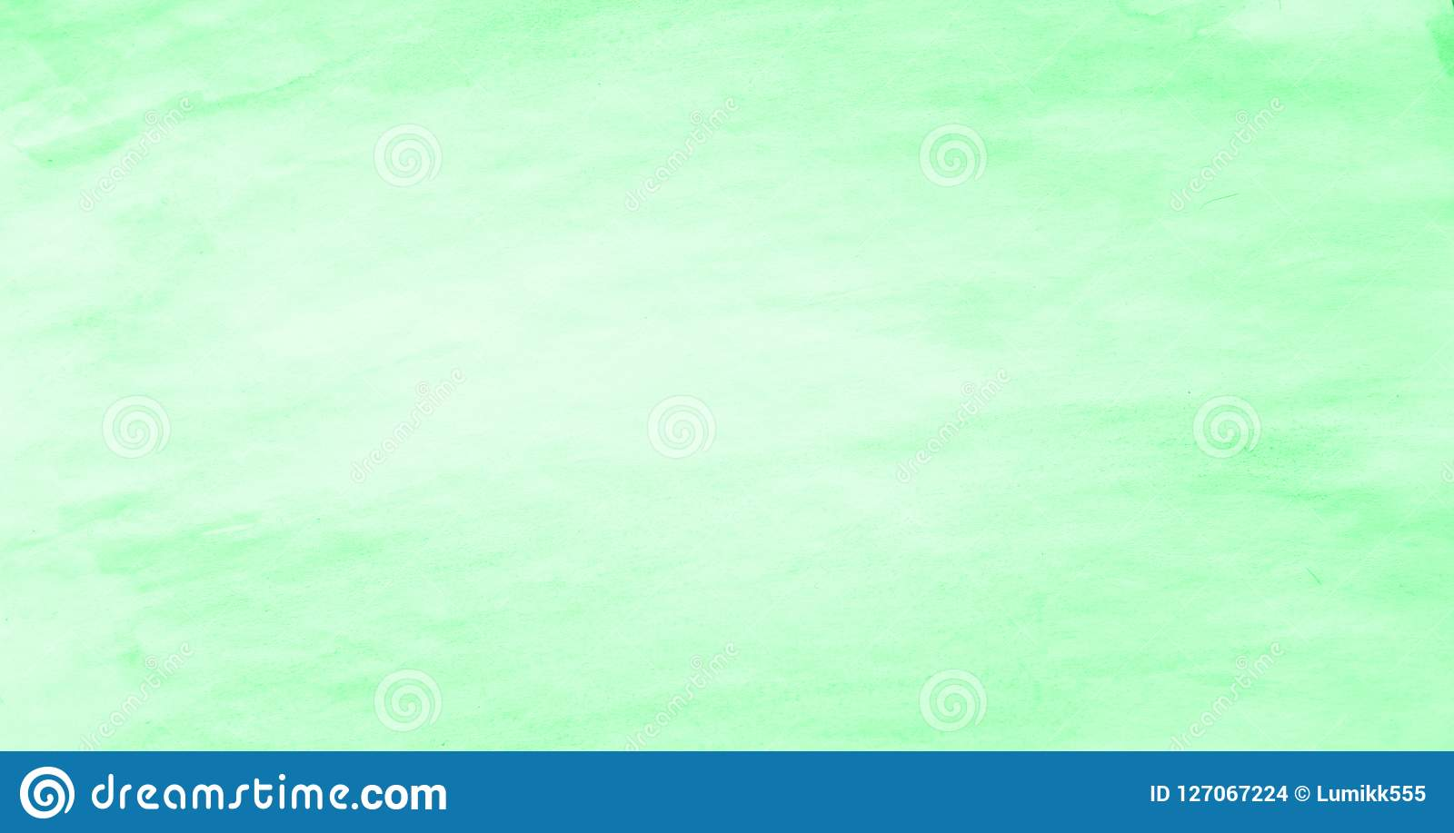 Art Light Green Watercolor Background For Design Stock Photo