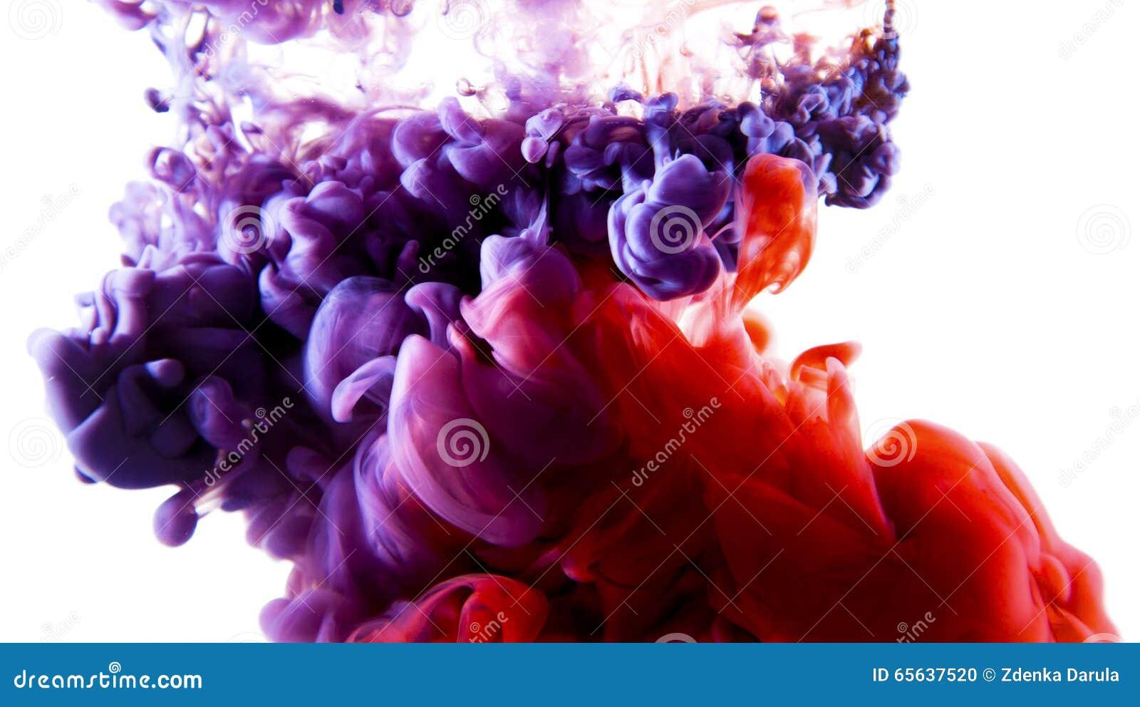 Art liquide coloré