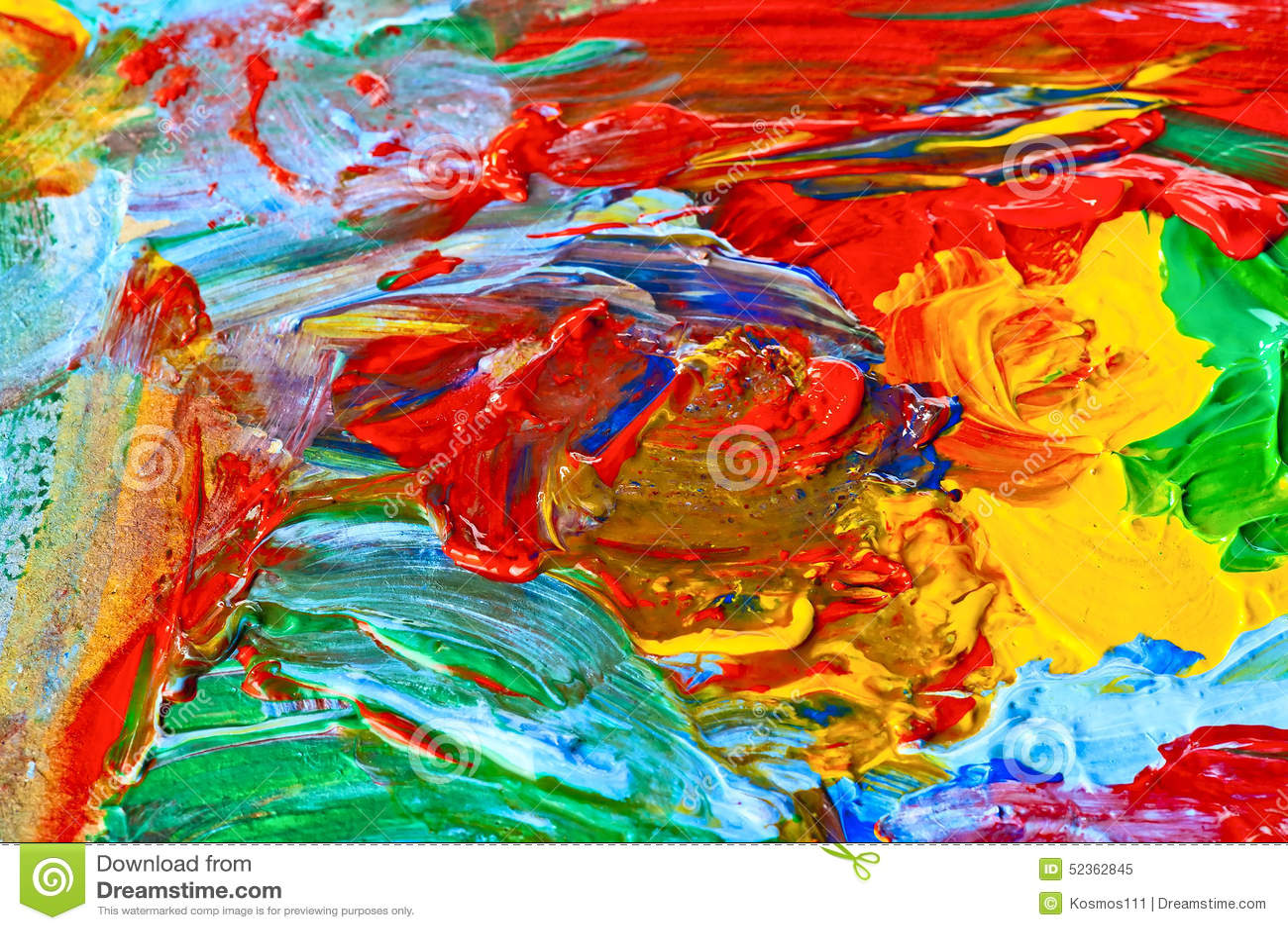 Art moderne peinture abstraite image stock image 52362845 for Art moderne peinture