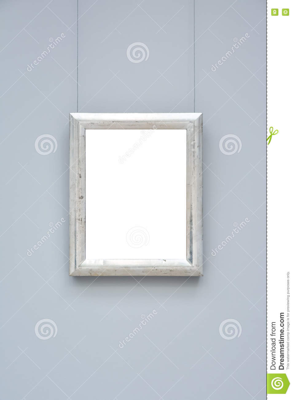 ac889ff870b Art Museum Frame Wall Ornate Minimal Design White Isolated Clipping Path  Template