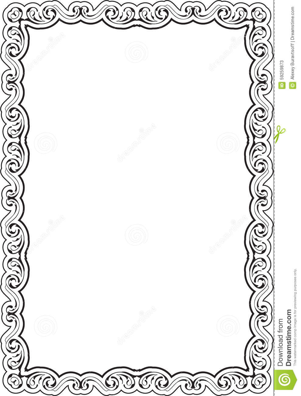 Art nice frame stock vector. Illustration of illustration - 59259873