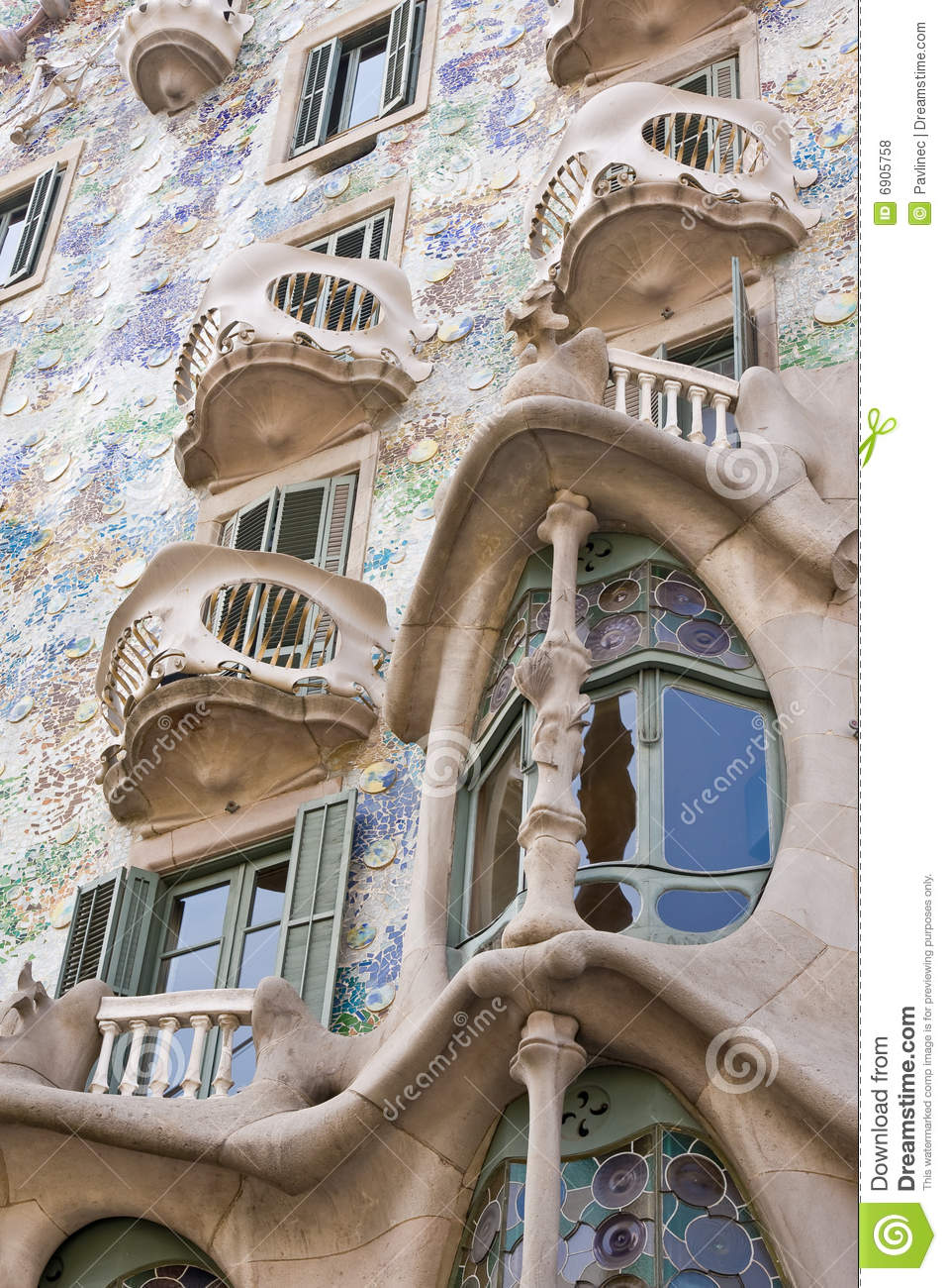 Art Nouveau Building Editorial Stock Photo Image Of Line