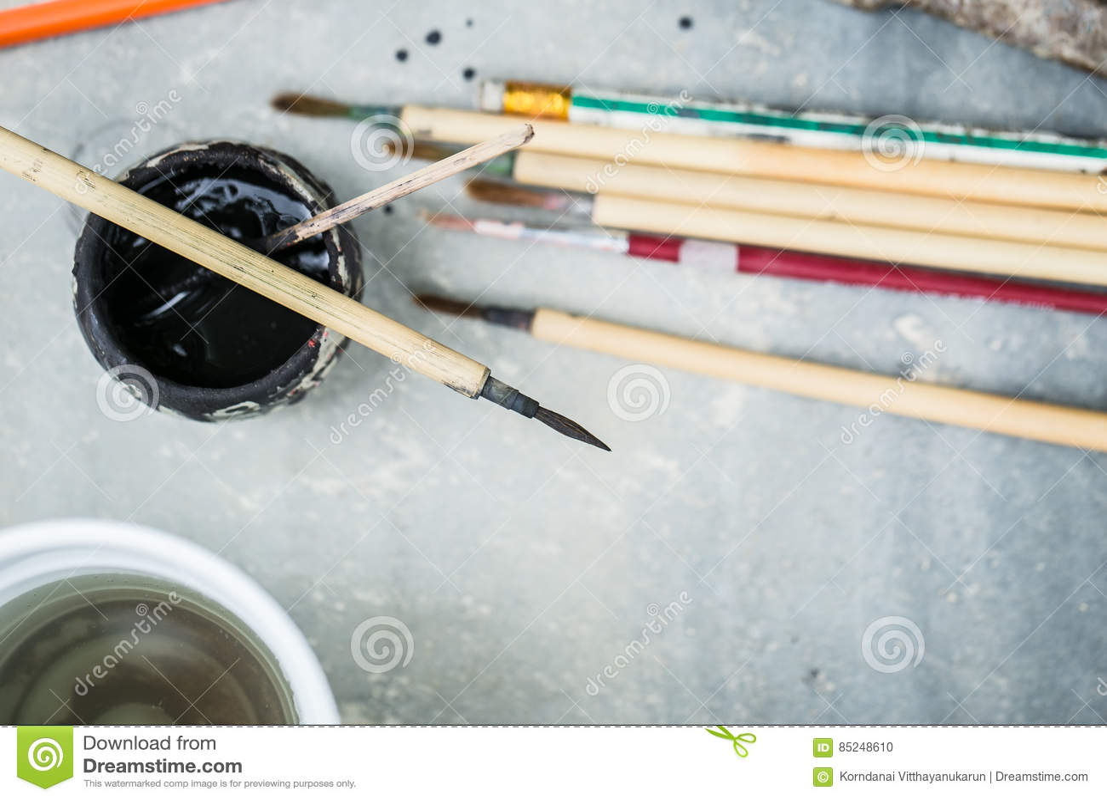Art Paintbrush krukmakerimålninghjälpmedel