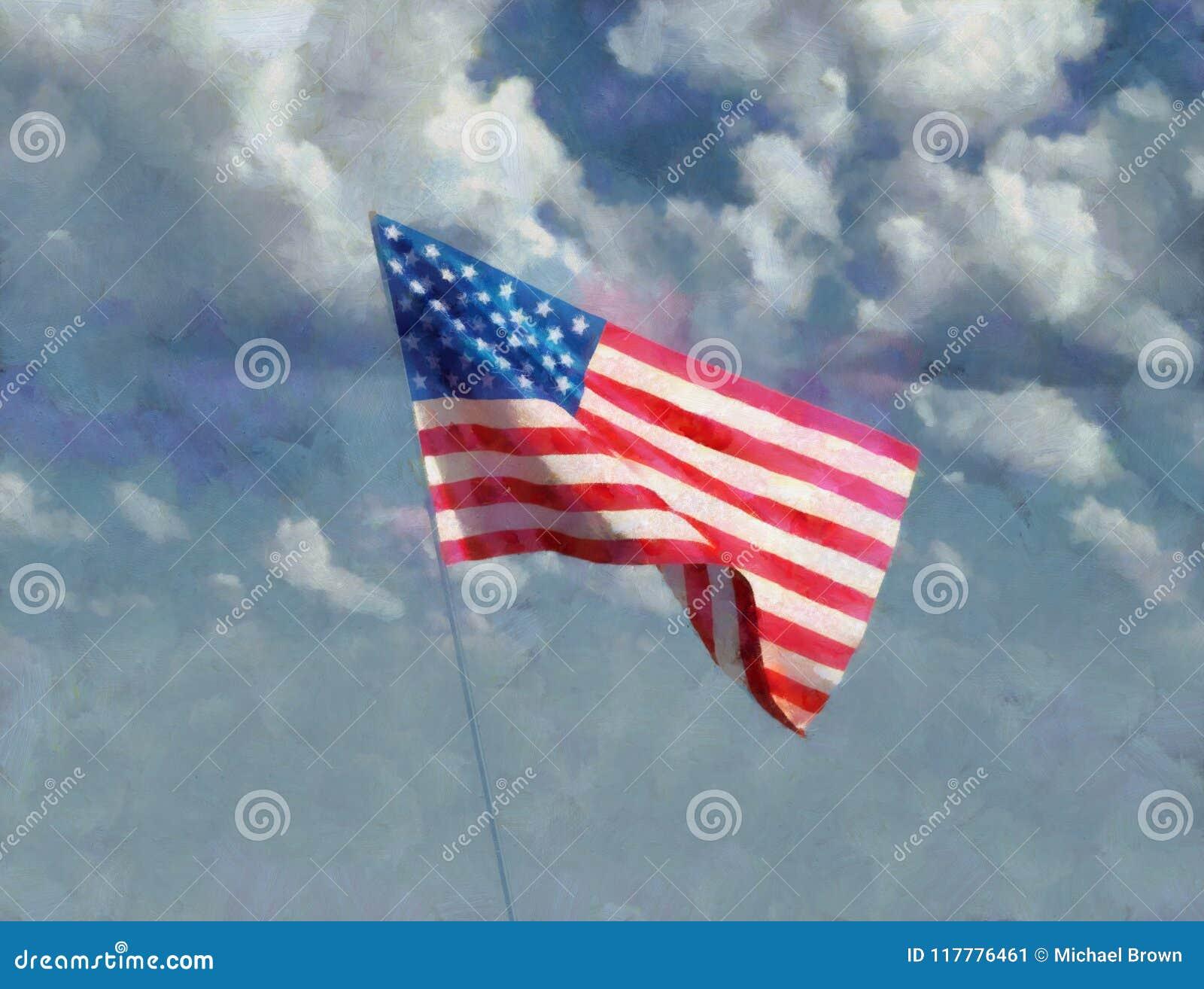 Art Painting van het Standbeeld van de V.S. van Vrijheid