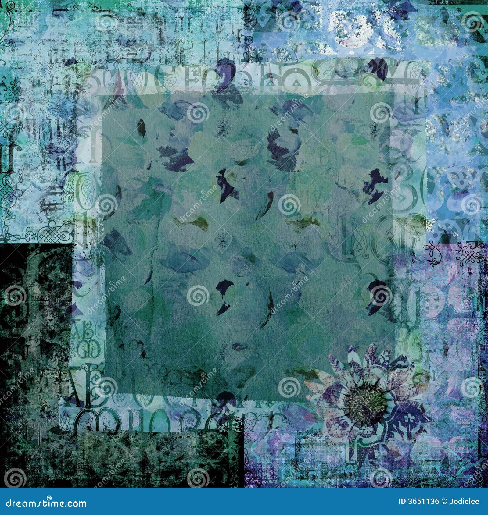 Art Paper Scrapbook Background Royalty Free Stock Image