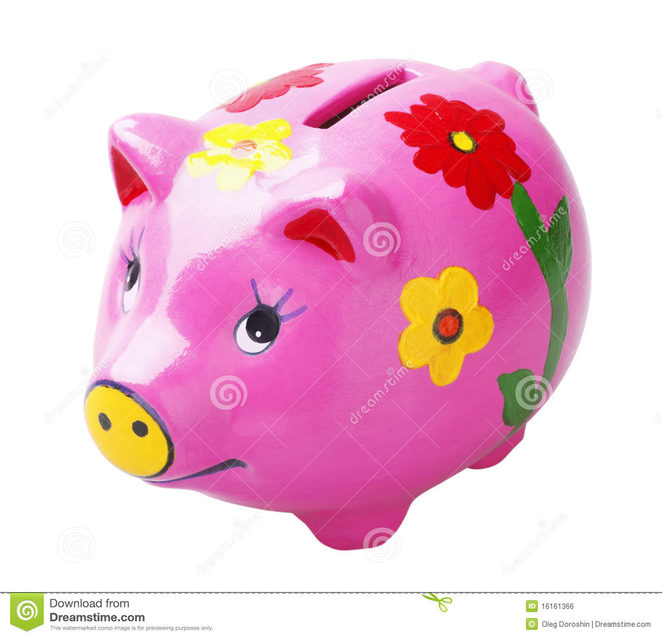 Art pig piggy bank stock photo image of isolated purple for How to make a piggy bank you can t open