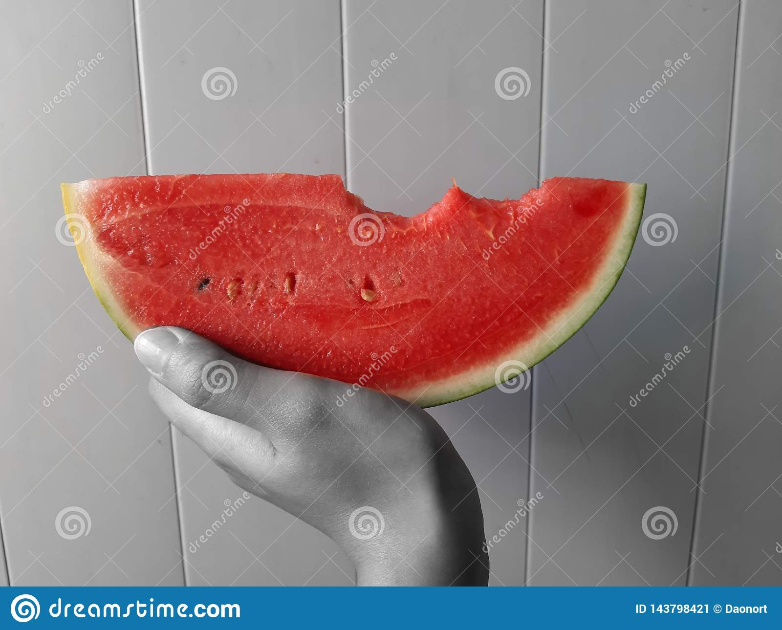 Art Red Watermelon