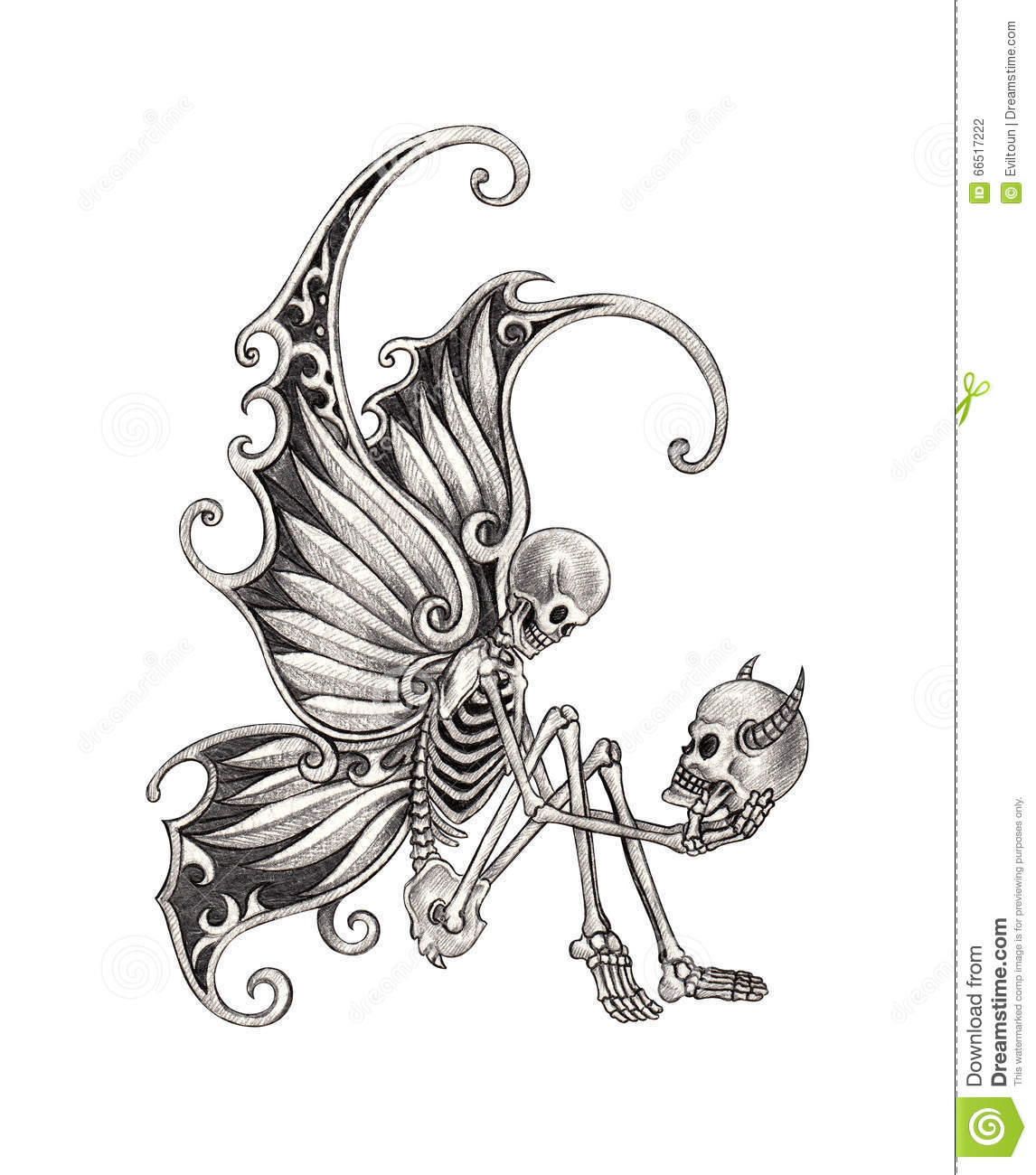 Flying Eye Patch Skull Vector Cartoon Illustration further Pumpkin Face Silhouettes furthermore Witch Coloring Pages moreover Satan additionally Stock Illustration Art Skull Fairy Tattoo Design Smiley Face Surreal Fantasy Hand Pencil Drawing Paper Image66517222. on scary halloween face drawing