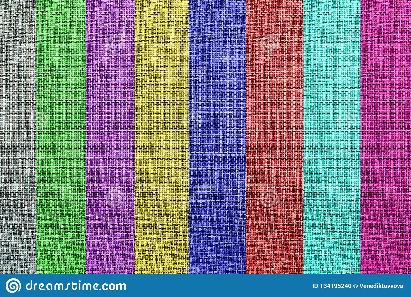 Art texturisé coloré de fond de tissu