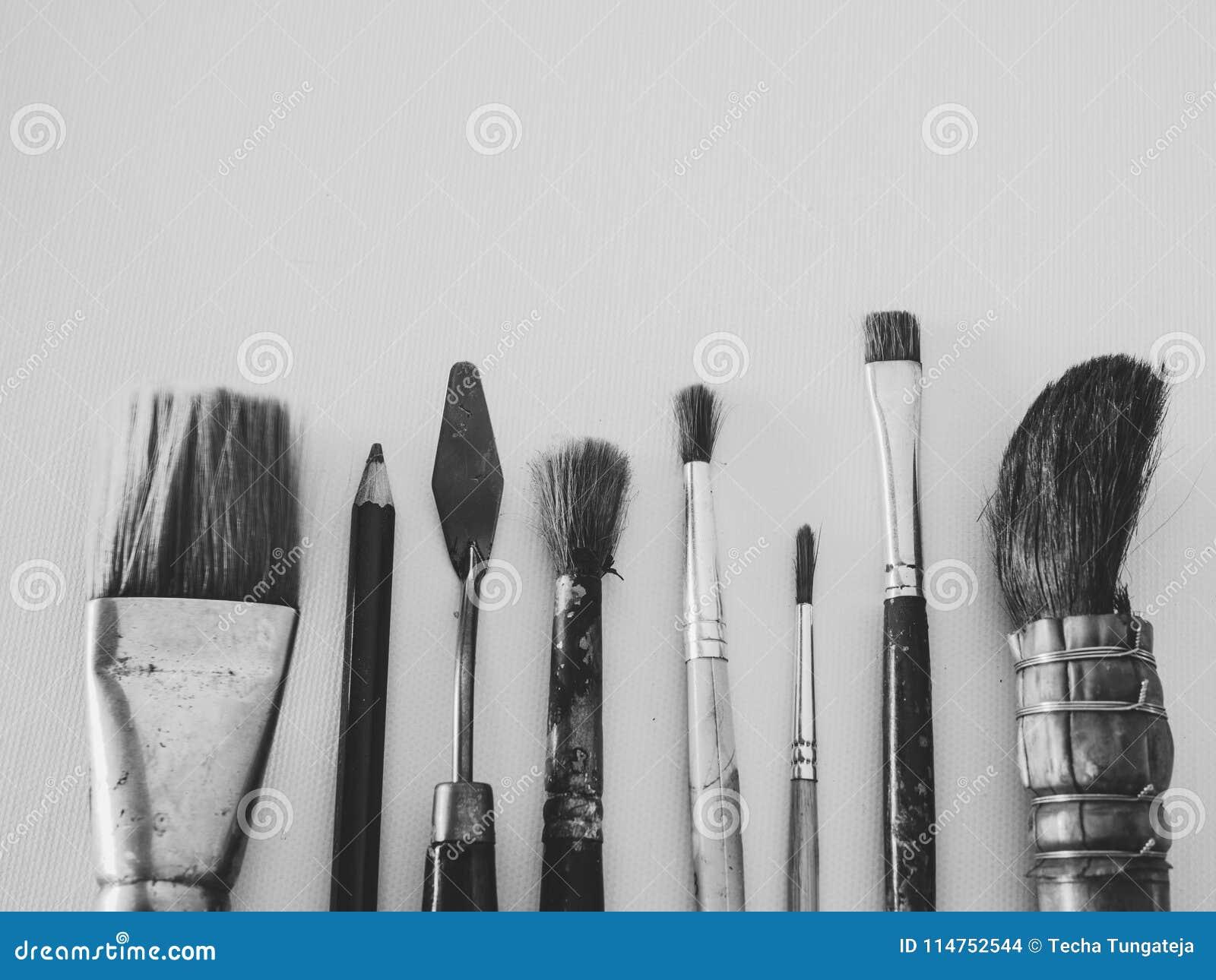 Art Tools stock photo  Image of leisure, grunge, drawing