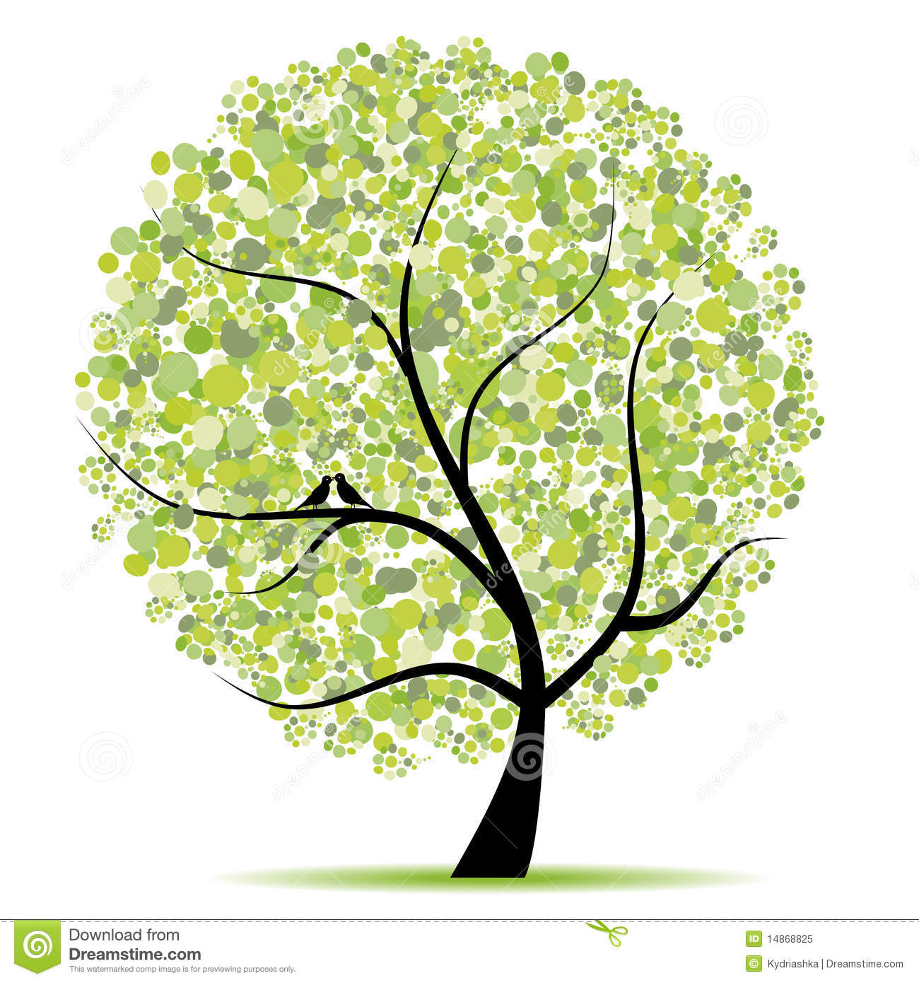Art Tree Beautiful For Your Design Royalty Free Stock Images ...