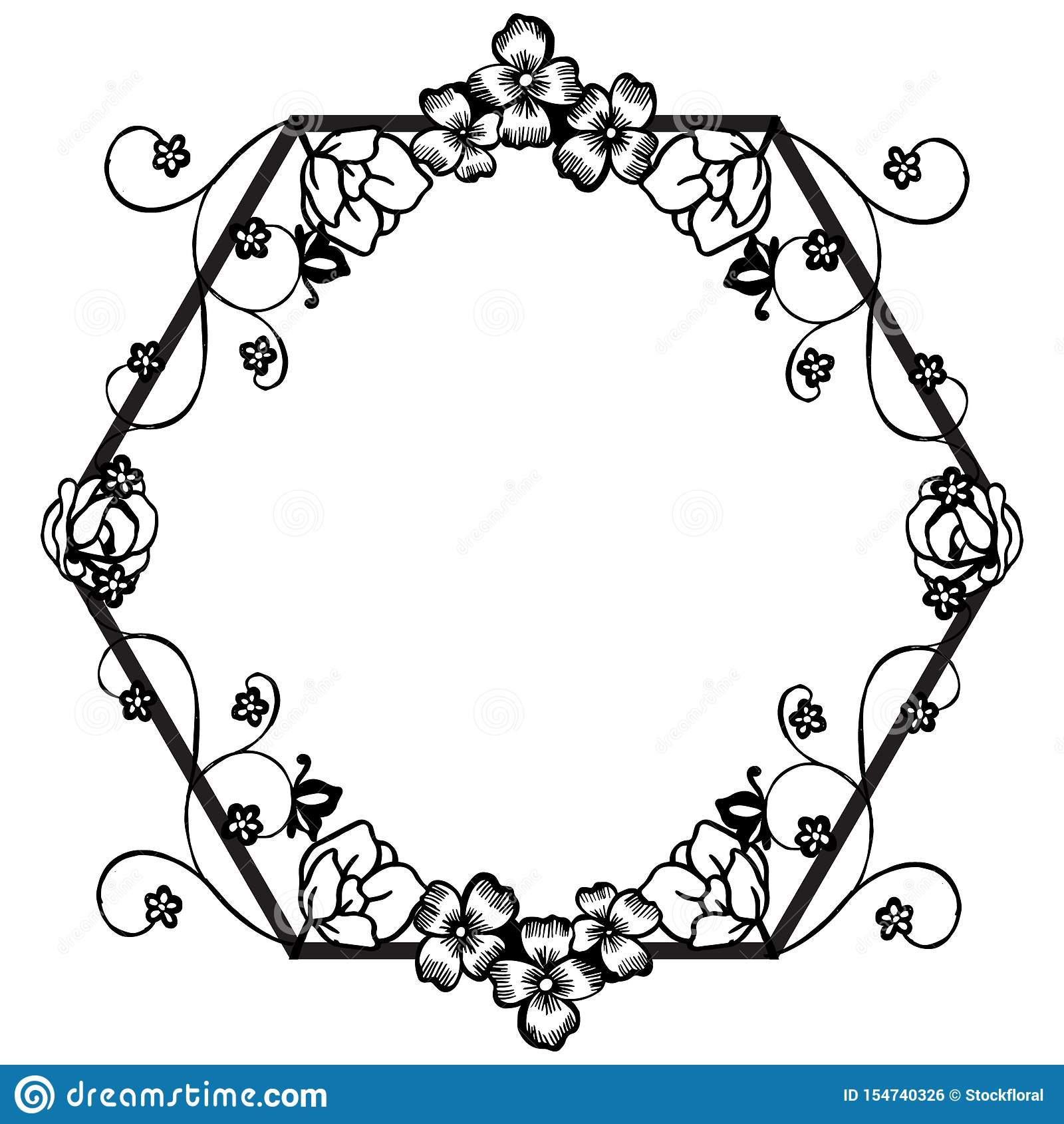 Simple Floral Border Drawing Black White Stock Illustrations 2 000 Simple Floral Border Drawing Black White Stock Illustrations Vectors Clipart Dreamstime