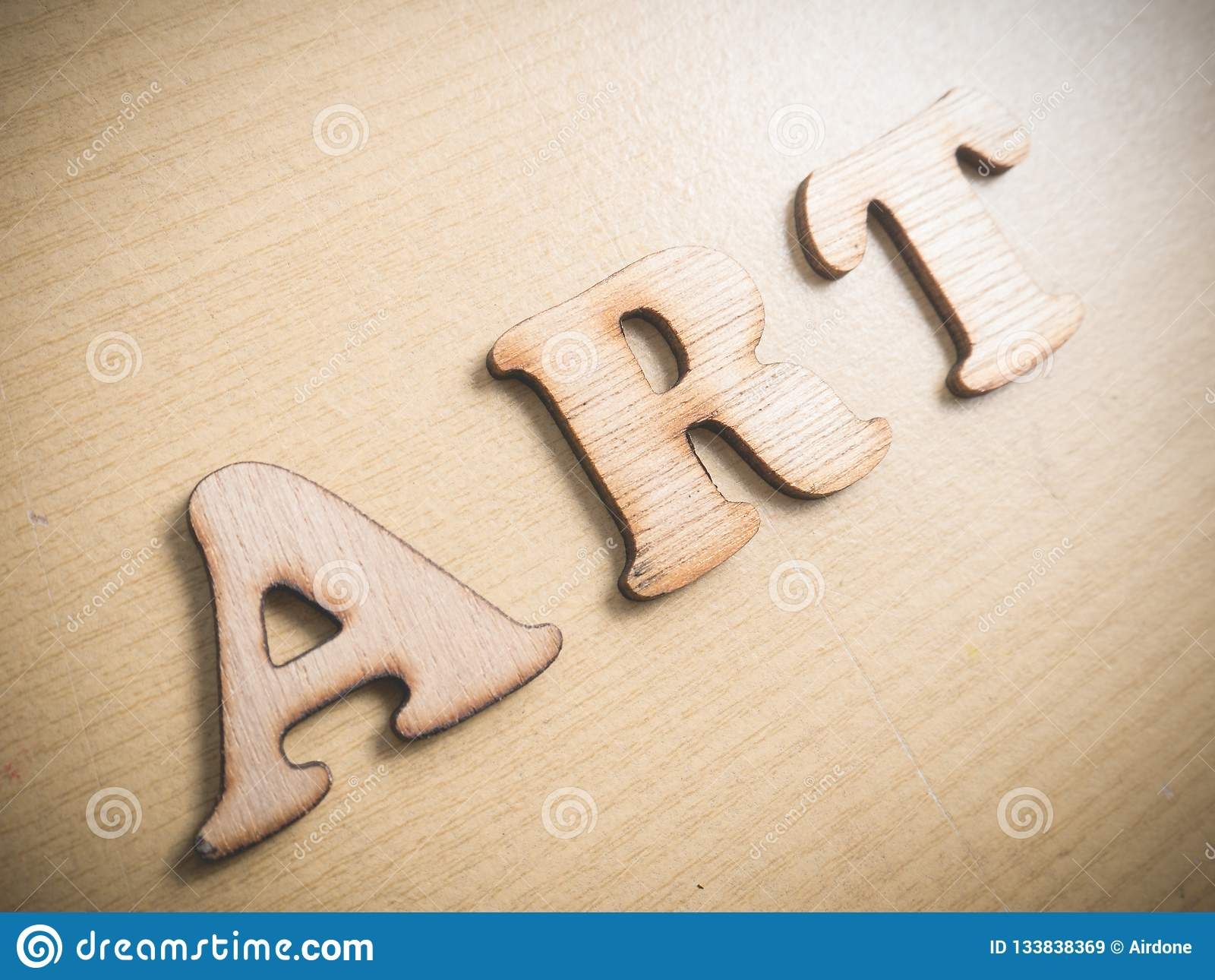 Art Motivational Words Quotes Concept