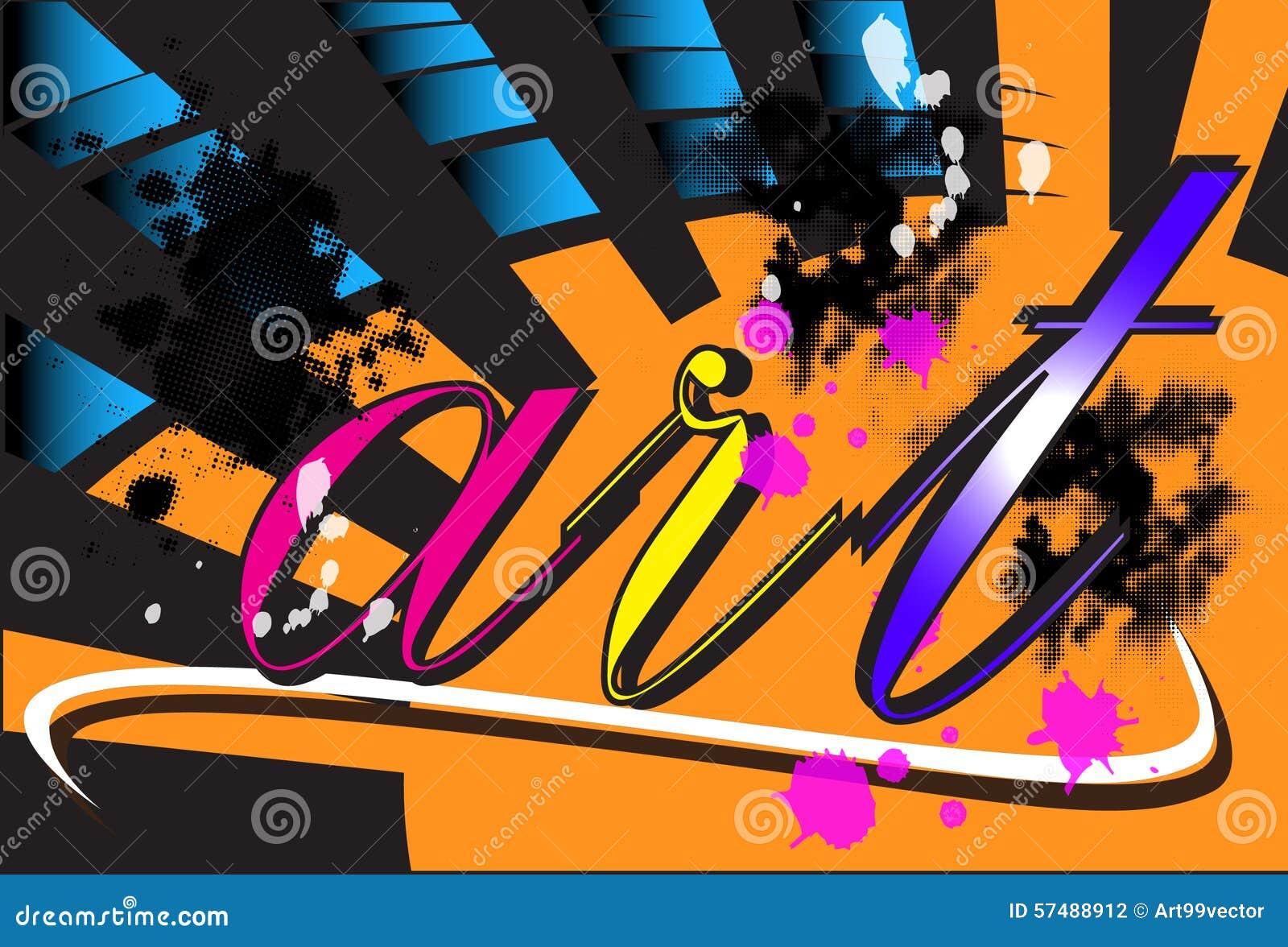 Pop Art Paint Brushes
