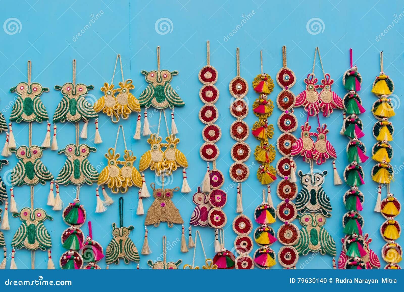 Art Work Indian Handicrafts Fair At Kolkata Editorial Image