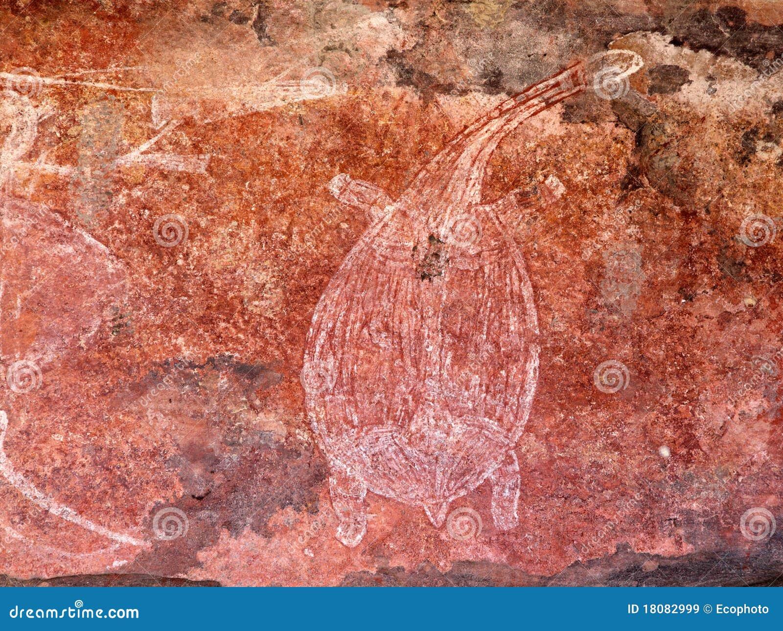 Arte aborígene da rocha