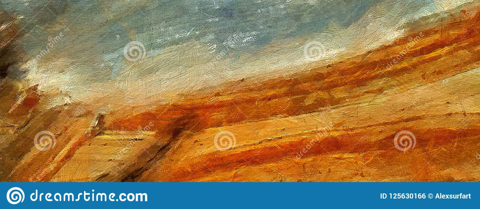 Arte astratta di struttura dell impressione Bacground luminoso artistico azione Materiale illustrativo della pittura a olio Carta