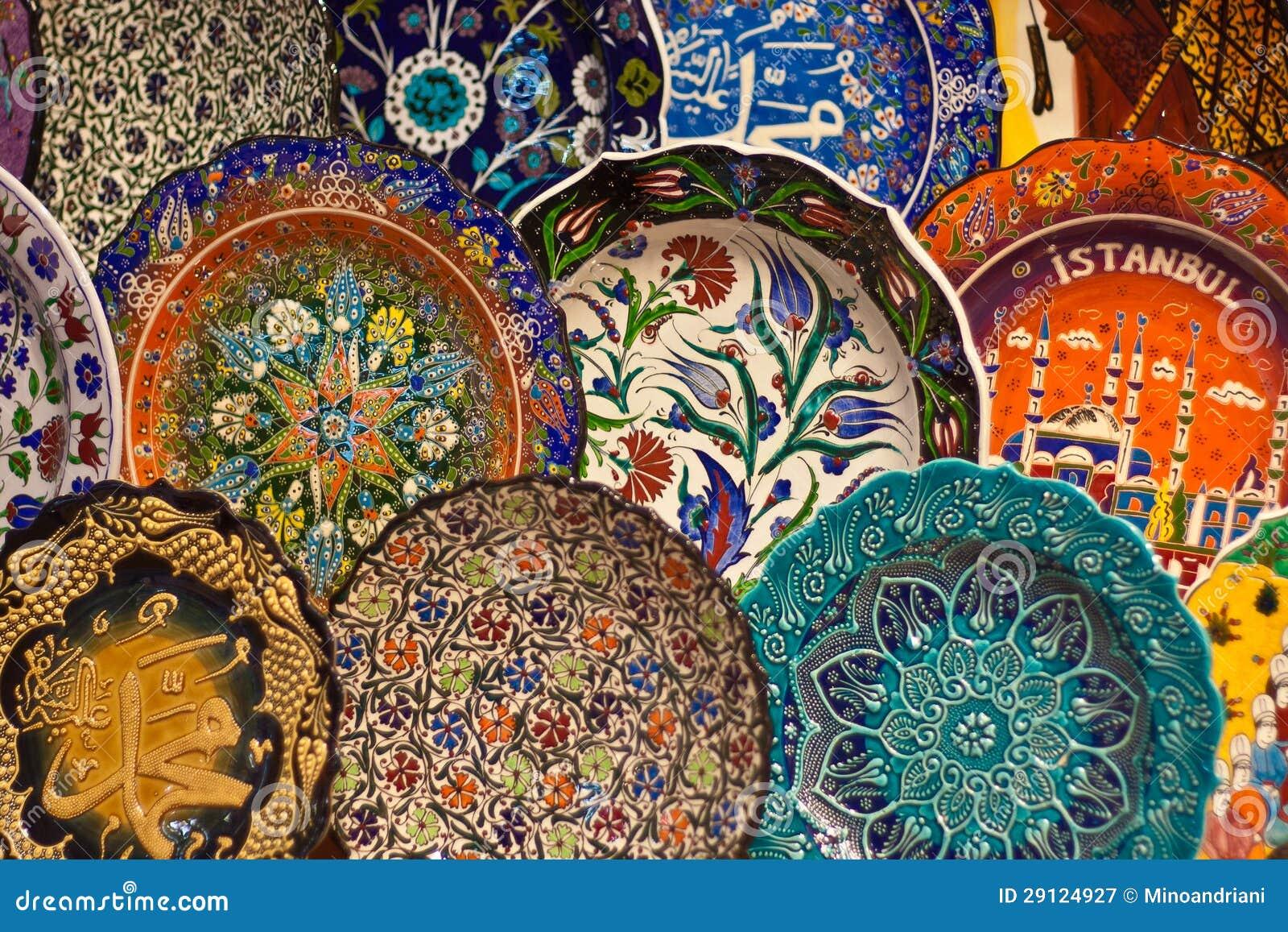 Arte Ceramica Turca Immagine Stock Immagine Di Arte