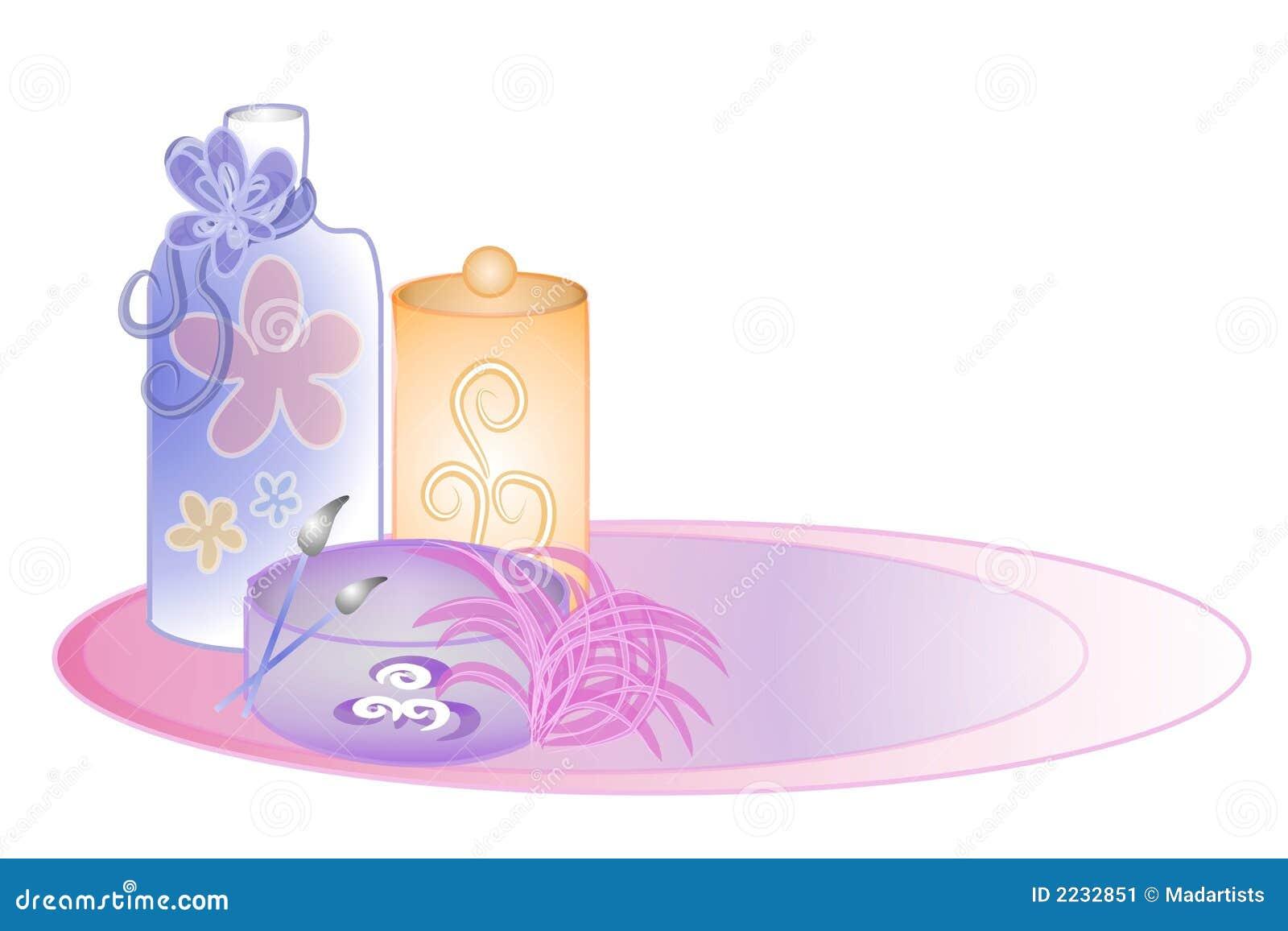 Arte de clip de los cosméticos del perfume