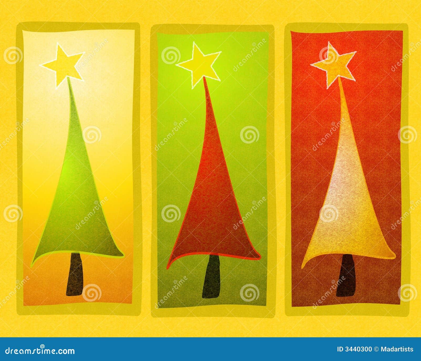 Arte de grampo rústica da árvore de Natal