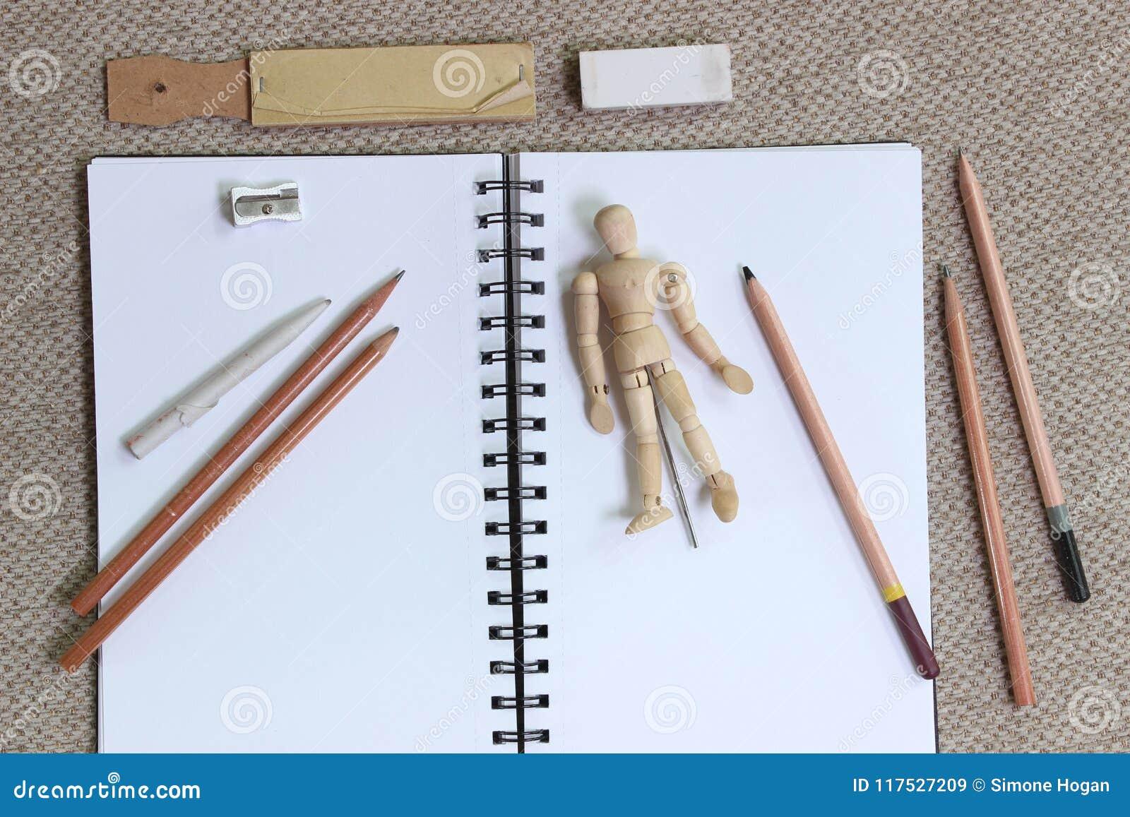 Arte del estilo de la endecha y concepto planos el bosquejar
