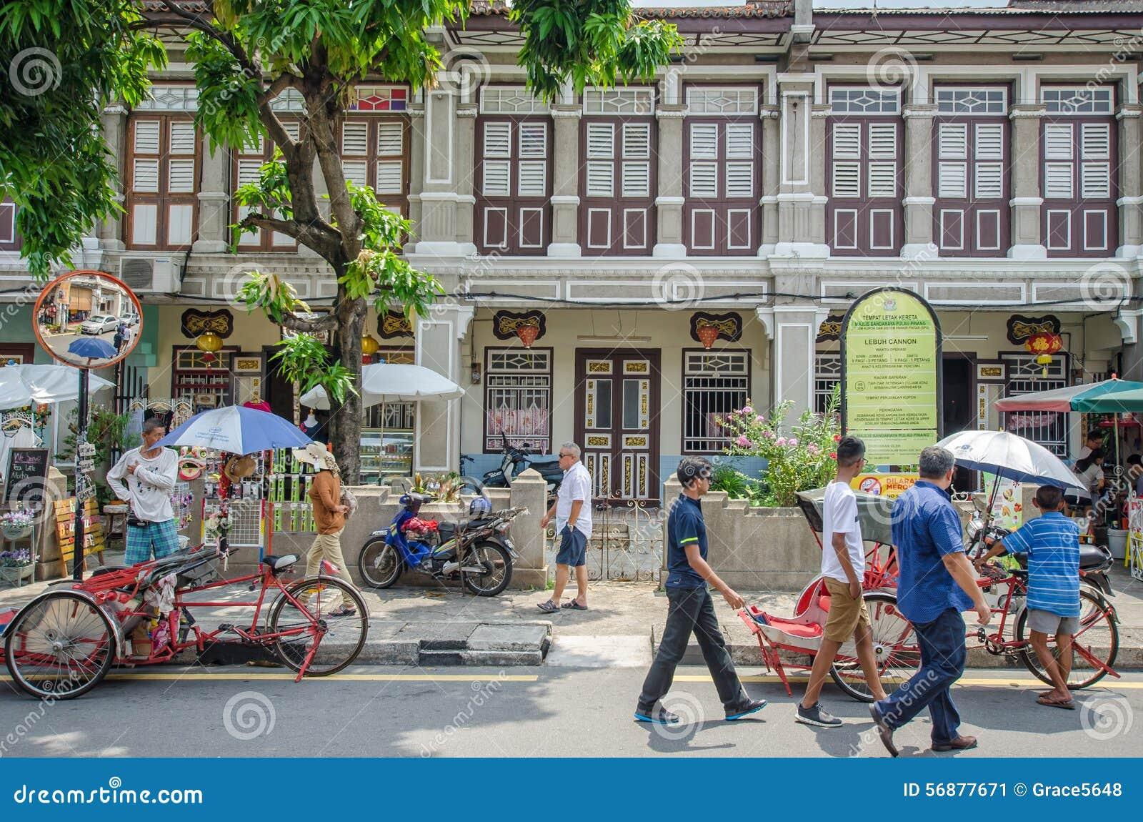 Arte della via a Georgetown, Penang