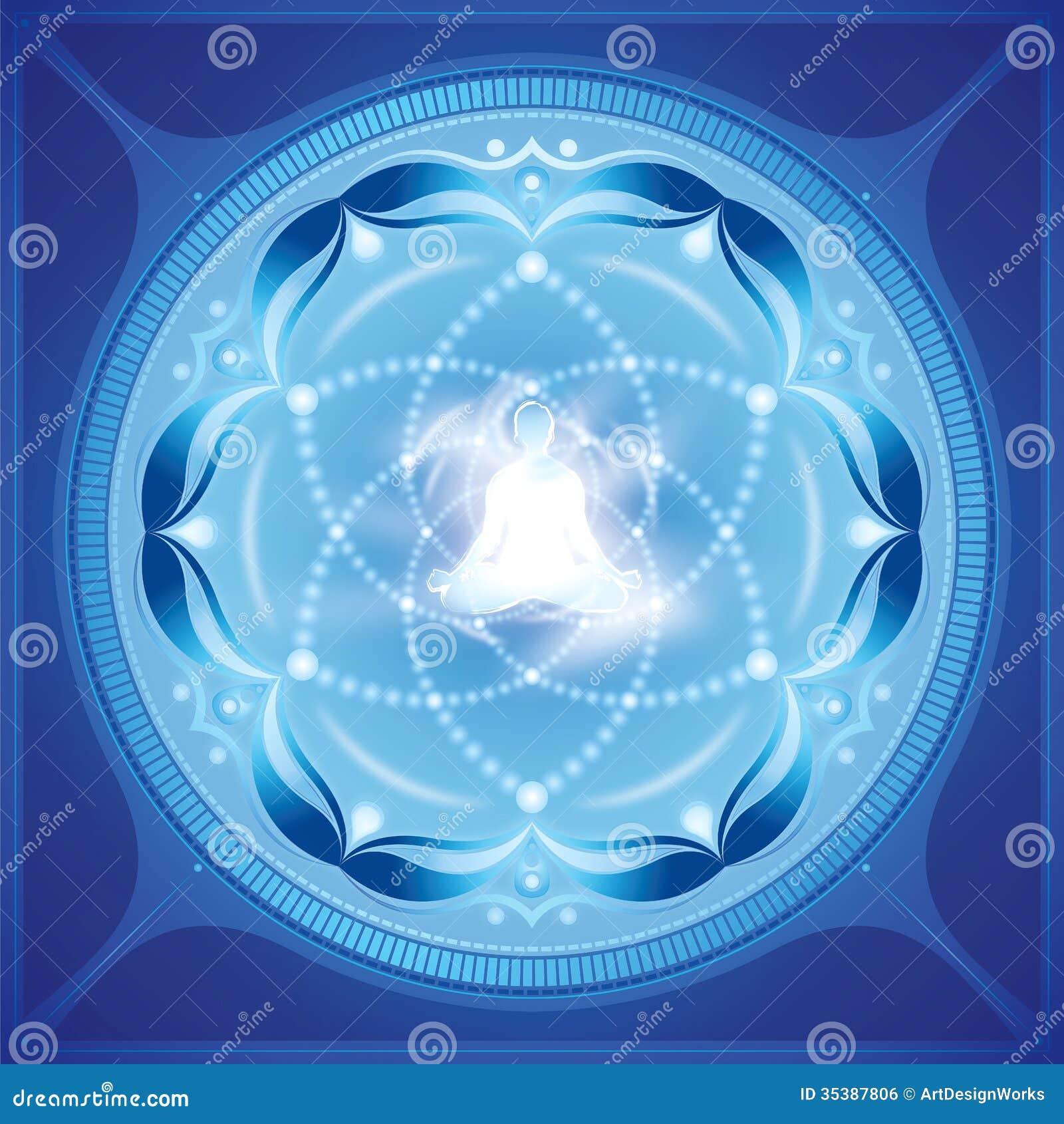 Arte dello spiritual di meditazione
