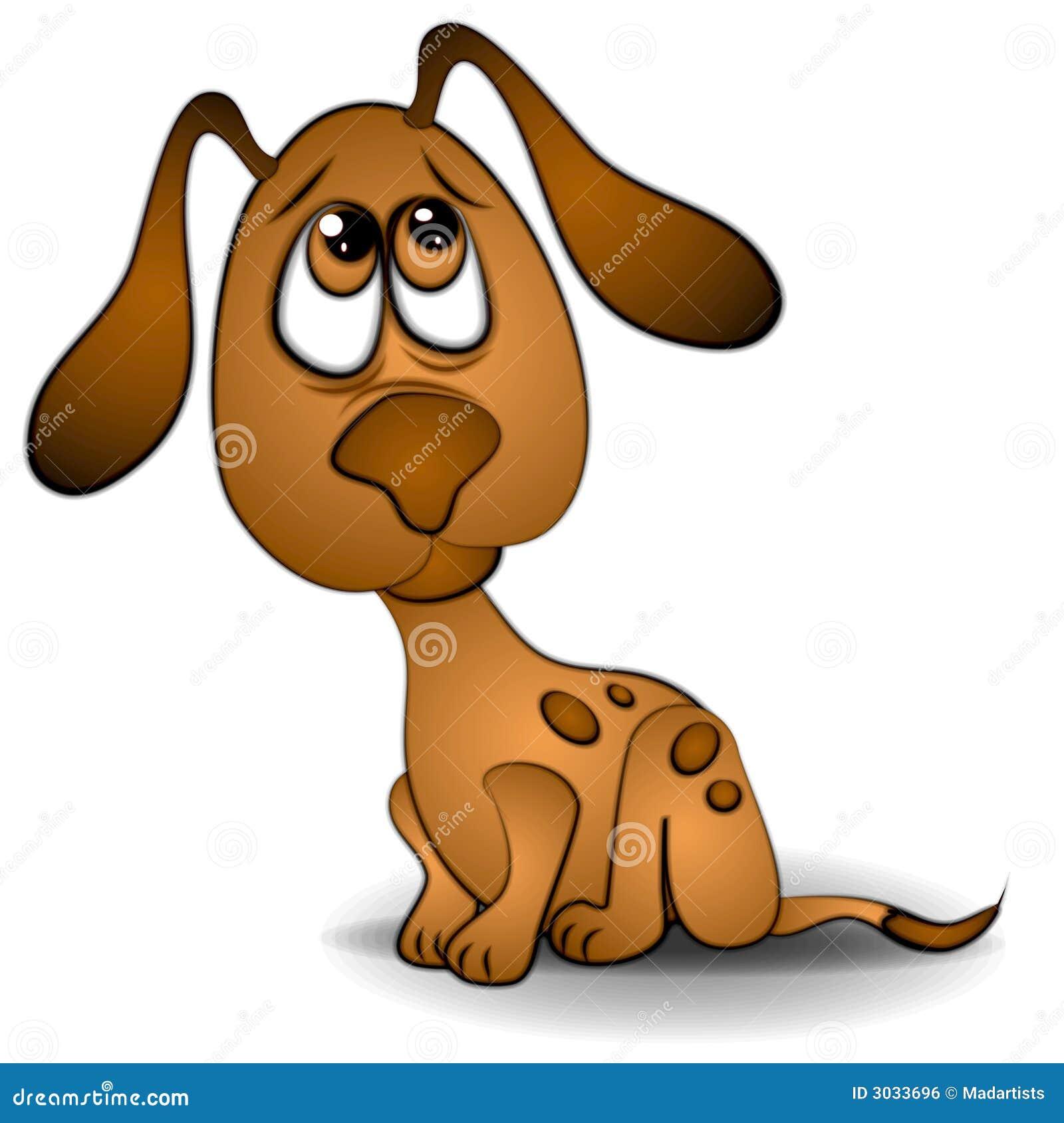 Arte di clip triste del cucciolo del cane degli occhi