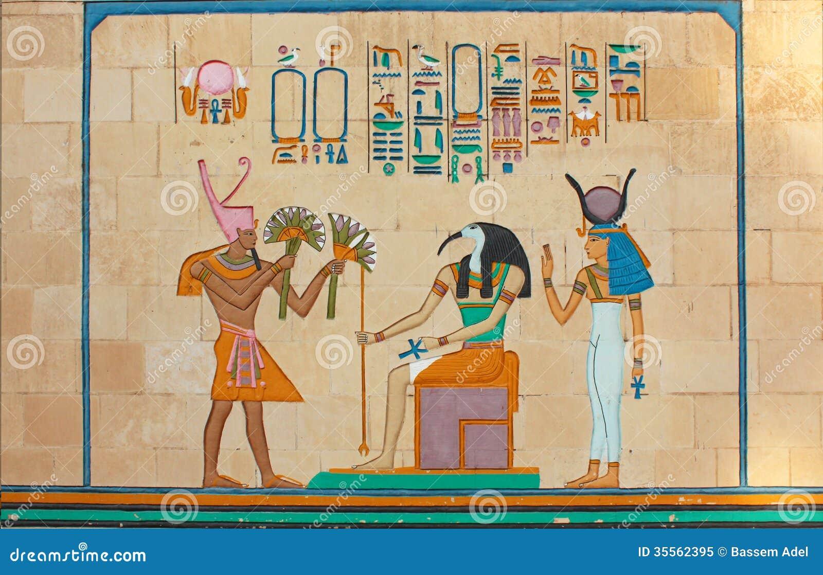 Arte faraónico egipcio antiguo