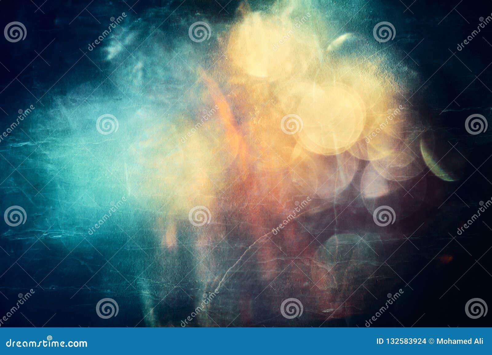 Arte finala colorido lisa moderna artística da galáxia do sumário