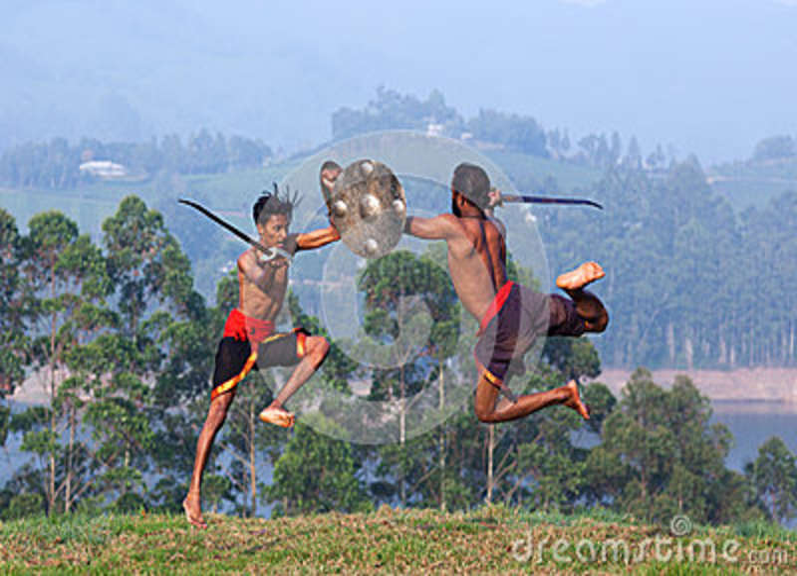 Arte marcial de Kalarippayattu em Kerala, Índia