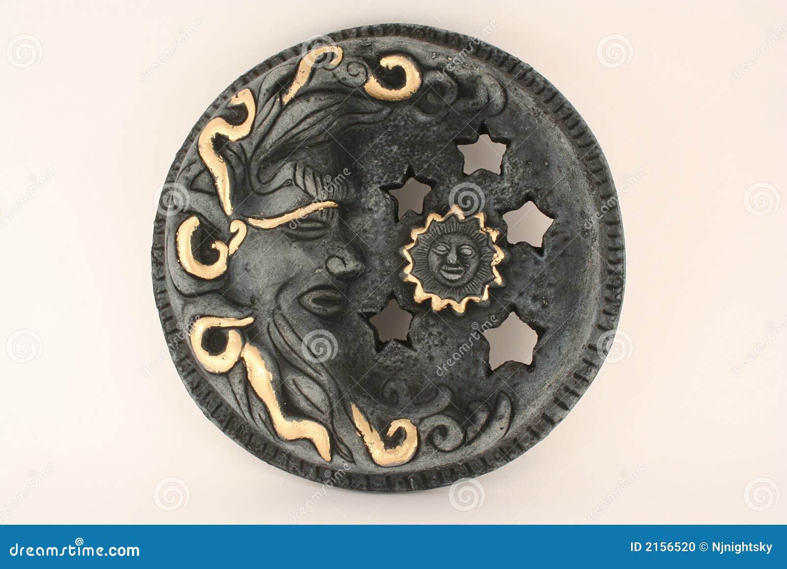 Arte mexicano Sun y luna