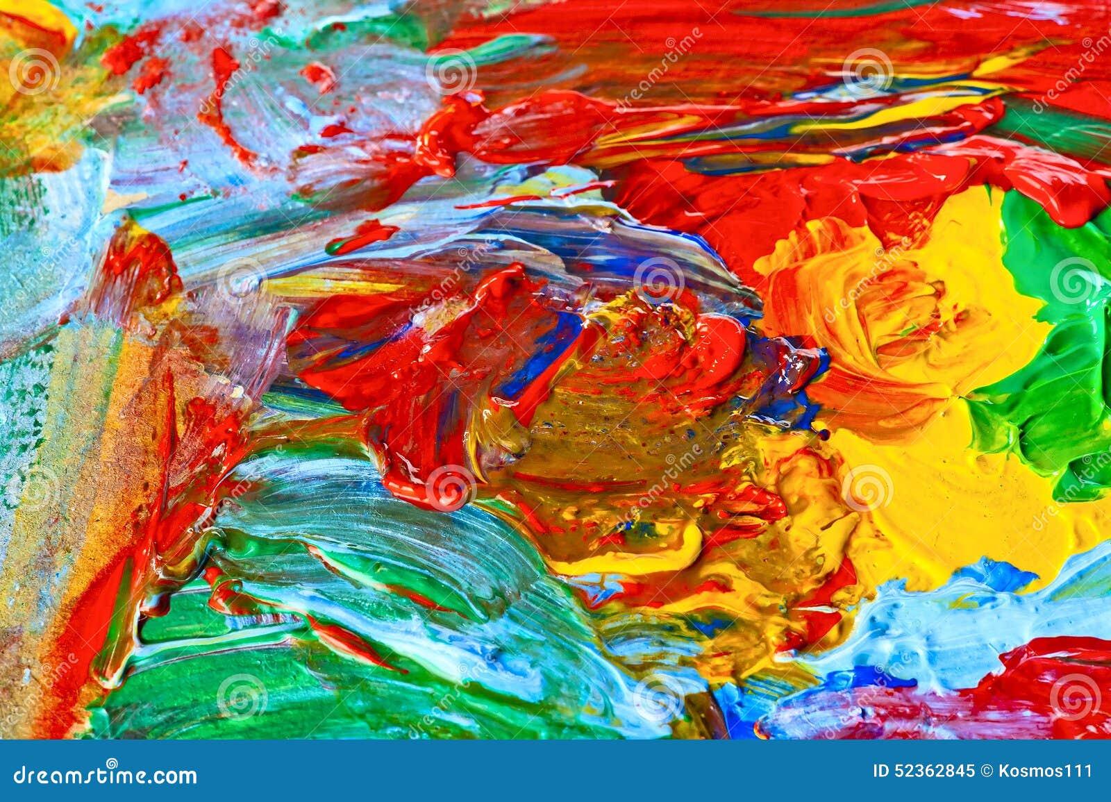 Fotos de pintura abstrata